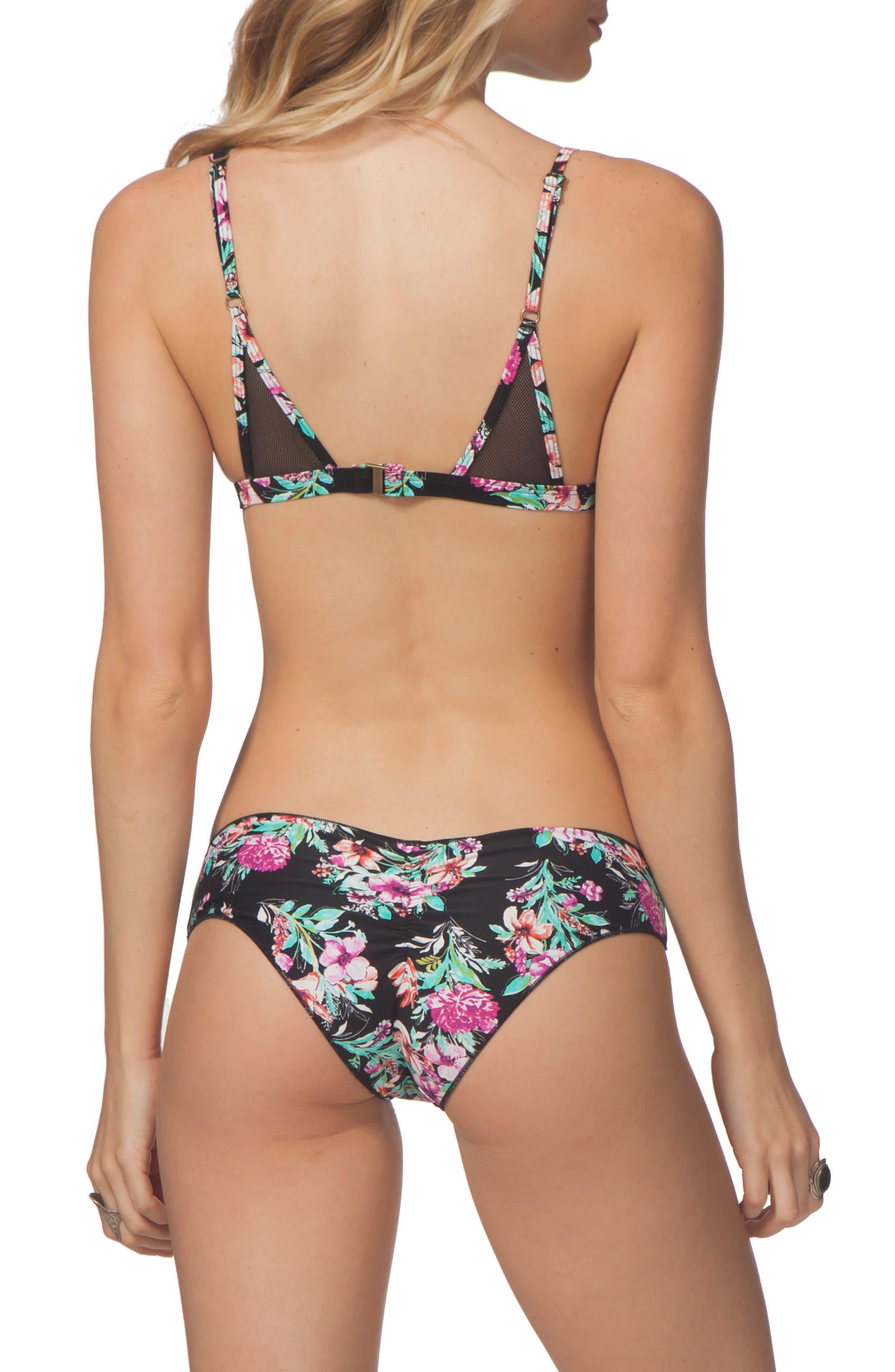 Lovely Day Hipster Bikini Bottoms,                             Alternate thumbnail 4, color,