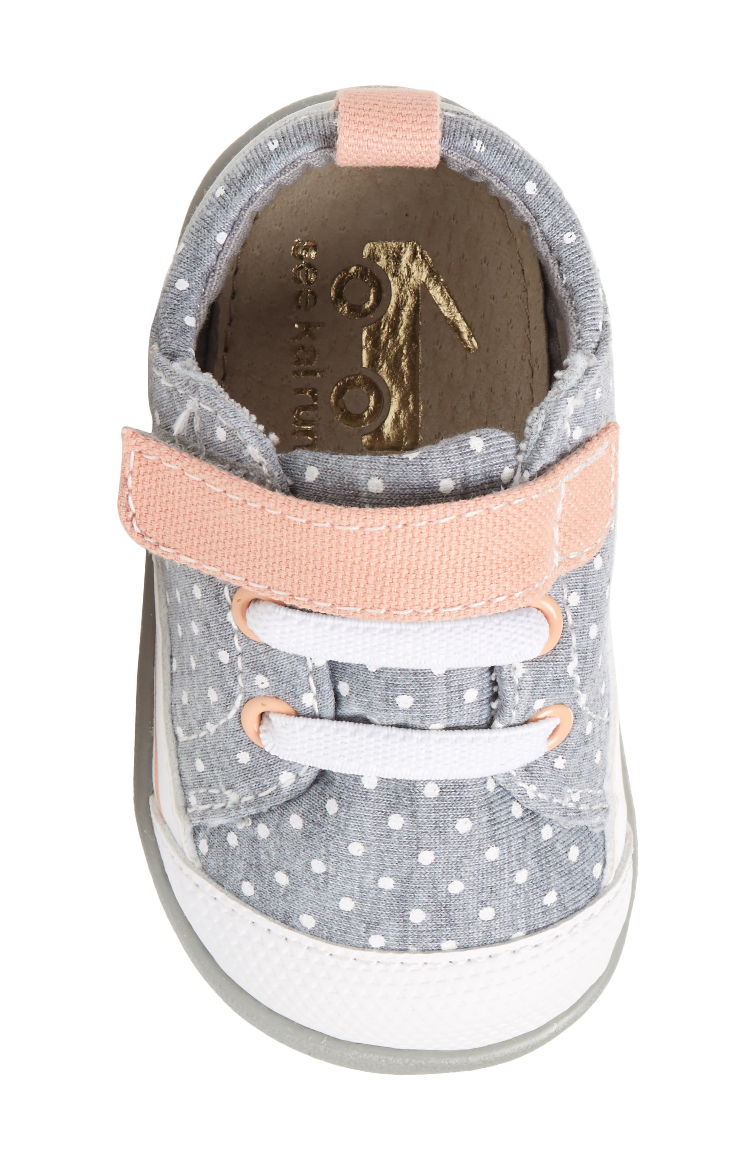 Stevie II Sneaker,                             Alternate thumbnail 5, color,                             JERSEY DOTS