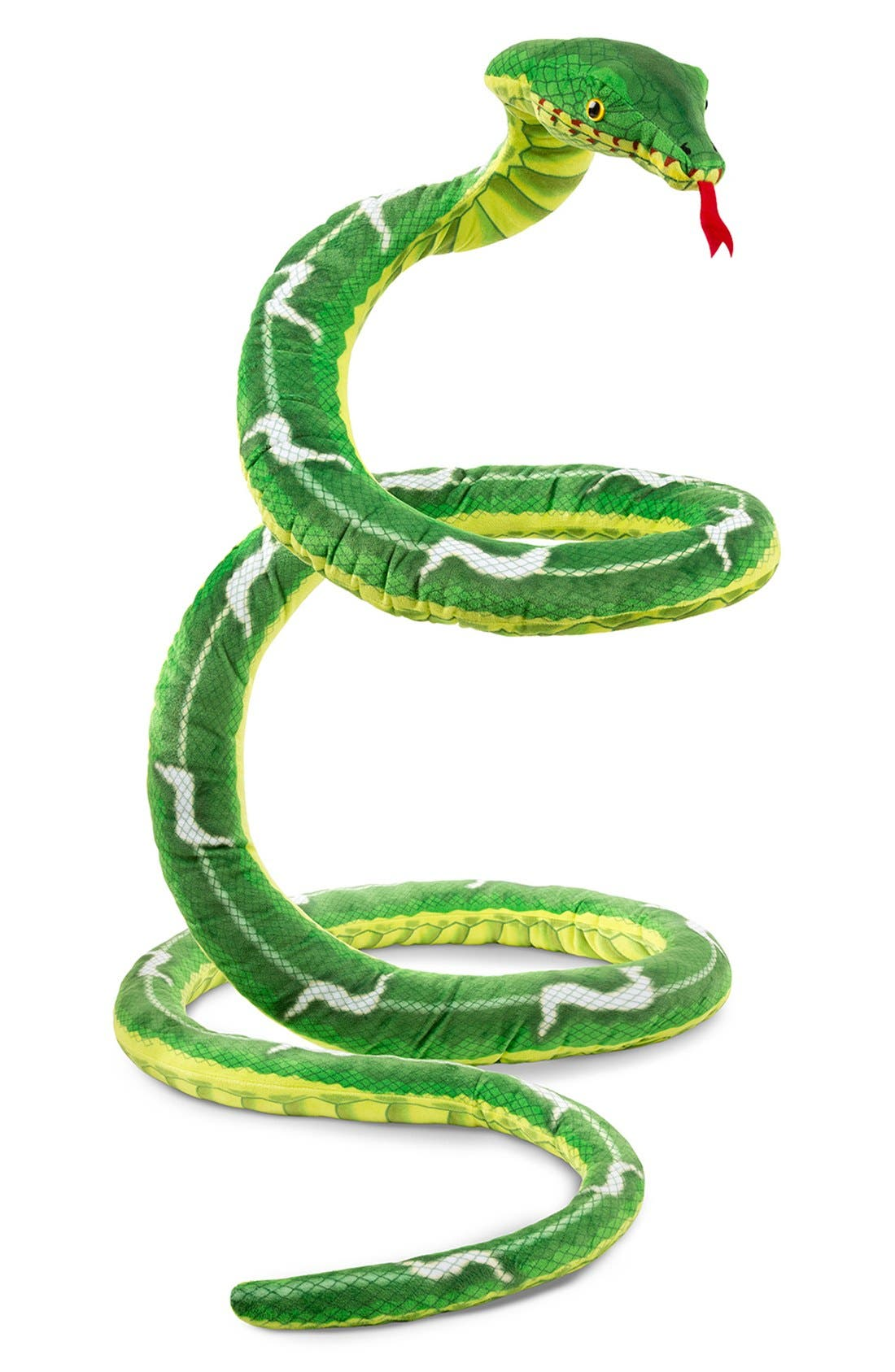 Plush Snake,                             Alternate thumbnail 6, color,                             GREEN