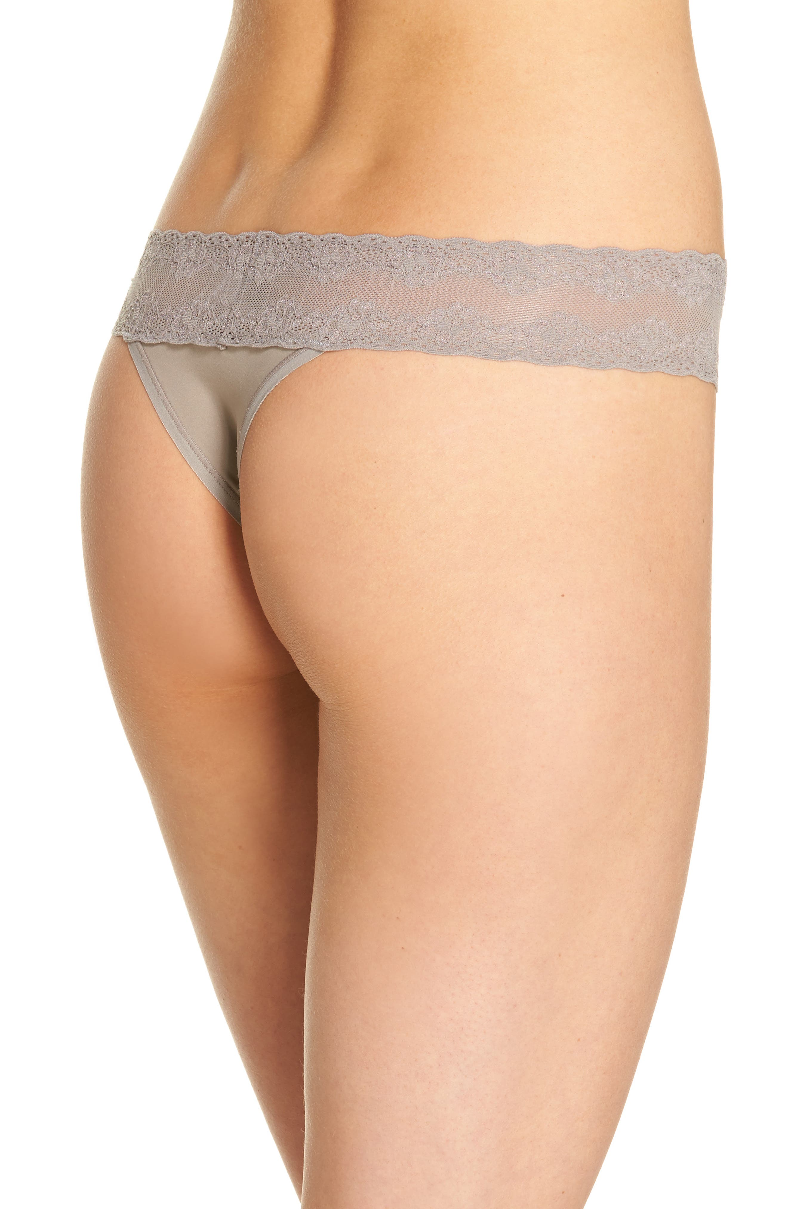 Bliss Perfection Thong,                             Alternate thumbnail 101, color,