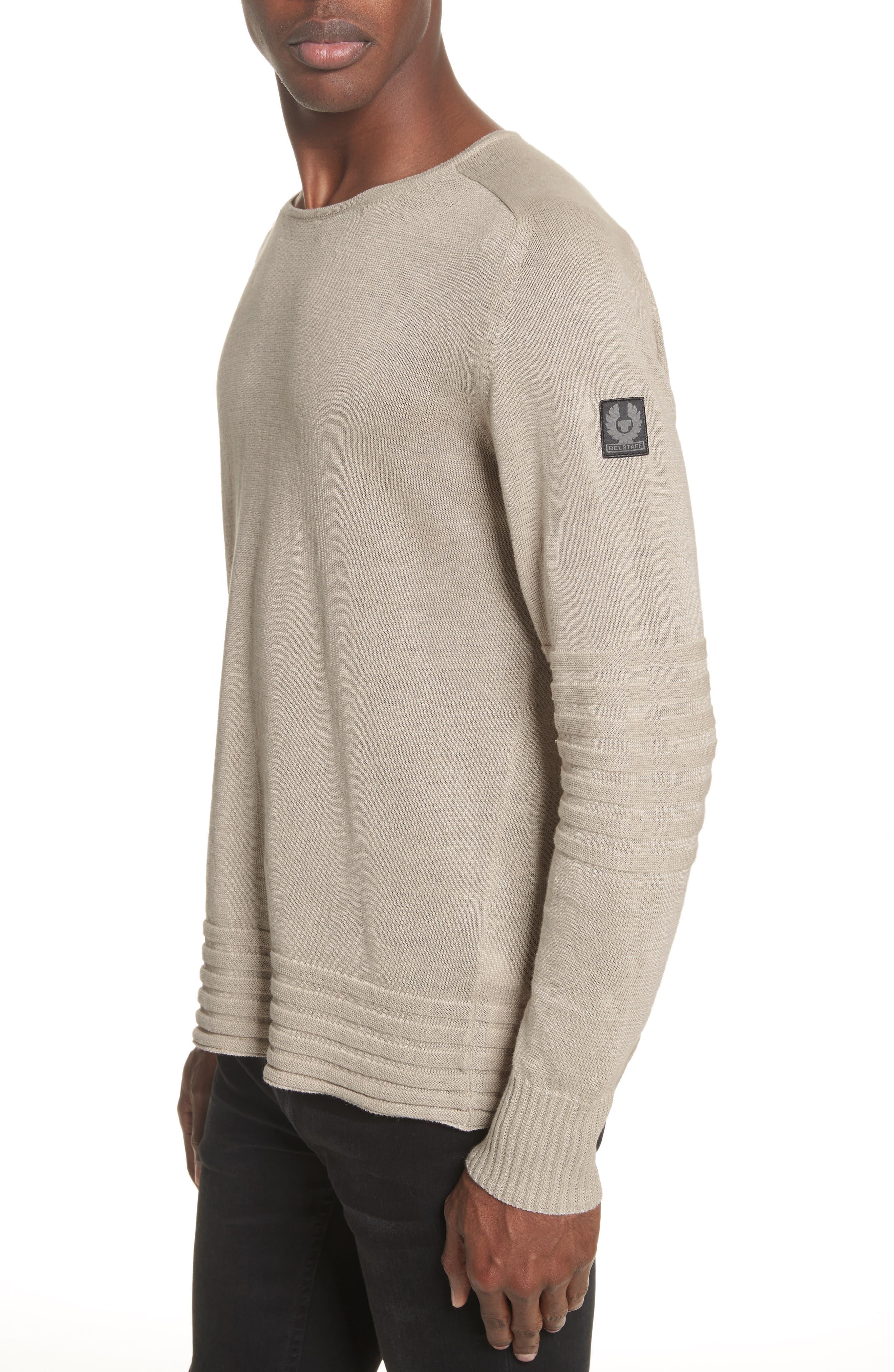 Exford Linen Crewneck Sweater,                             Main thumbnail 1, color,
