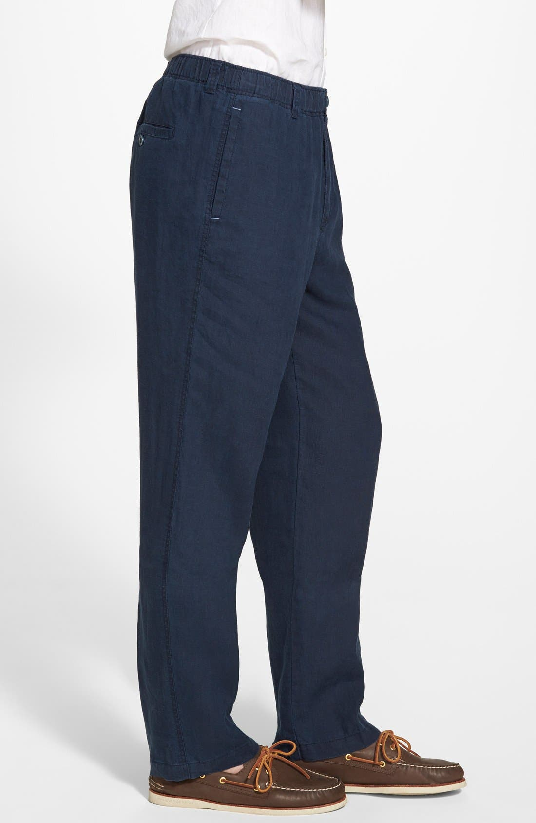 'New Linen on the Beach' Easy Fit Pants,                             Alternate thumbnail 21, color,