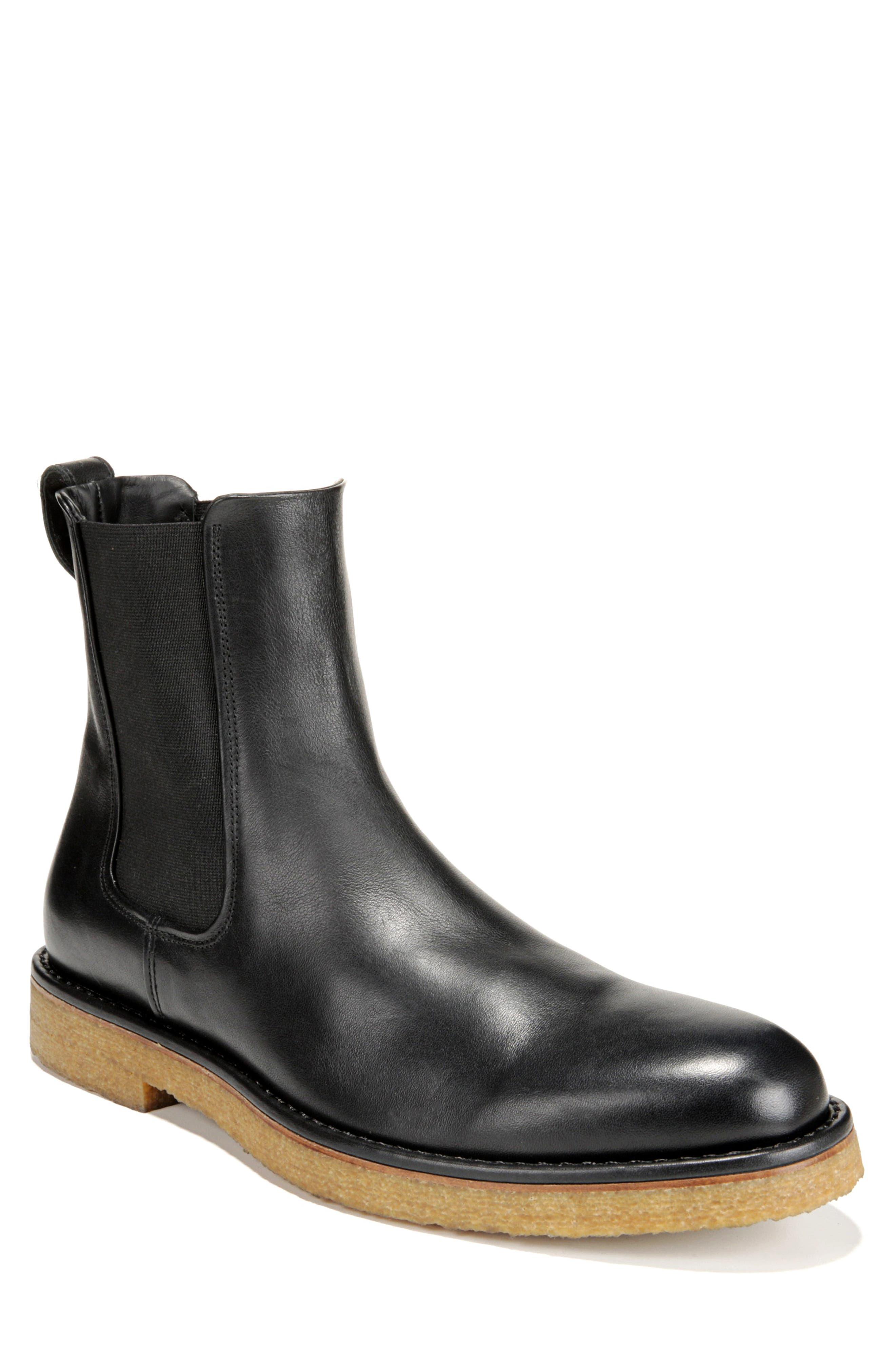 Cresslor Chelsea Boot,                         Main,                         color, BLACK