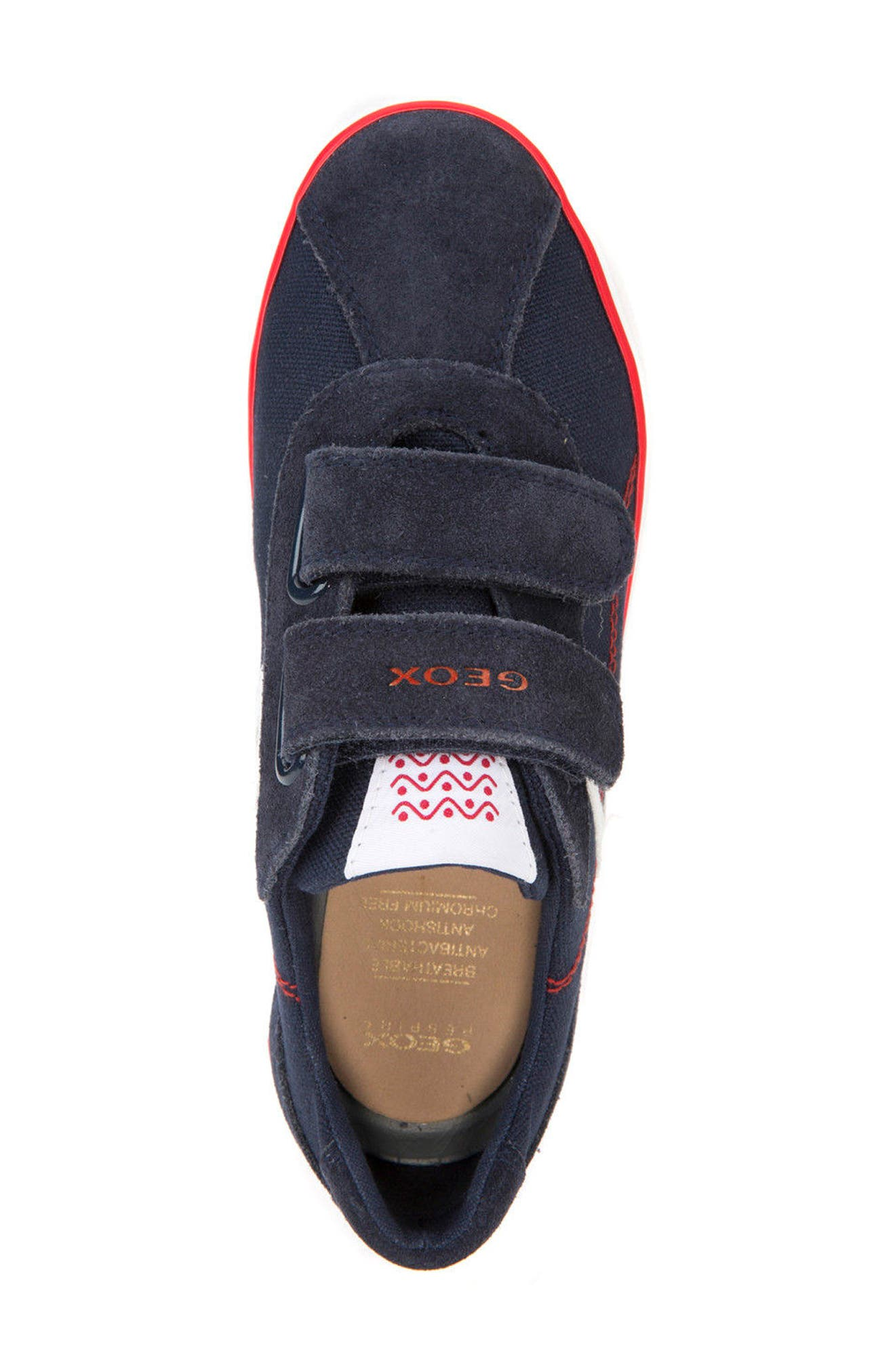 Kilwi Low Top Sneaker,                             Alternate thumbnail 5, color,                             NAVY/ RED