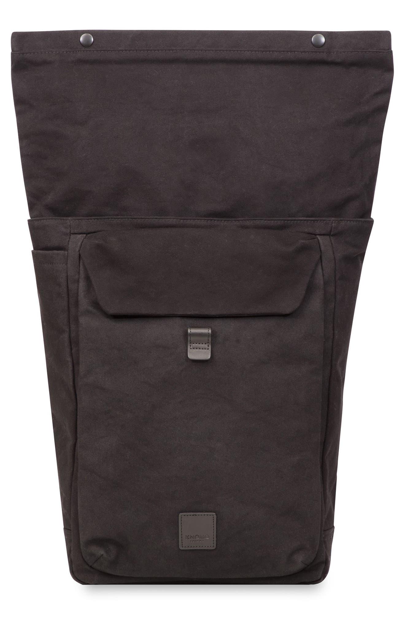 Fulham Novello Backpack,                             Alternate thumbnail 6, color,                             BLACK