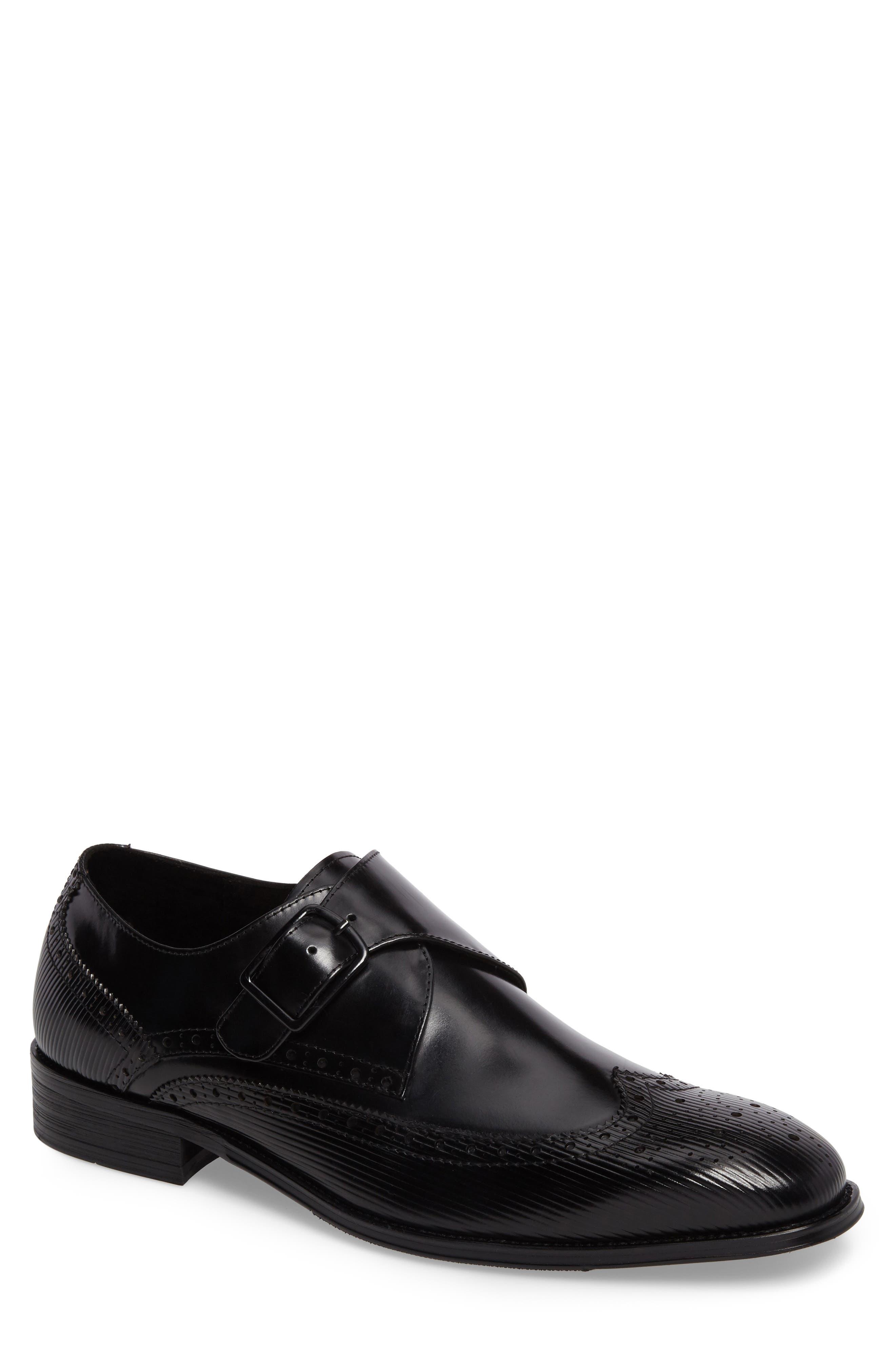 Design Monk Strap Shoe,                         Main,                         color,