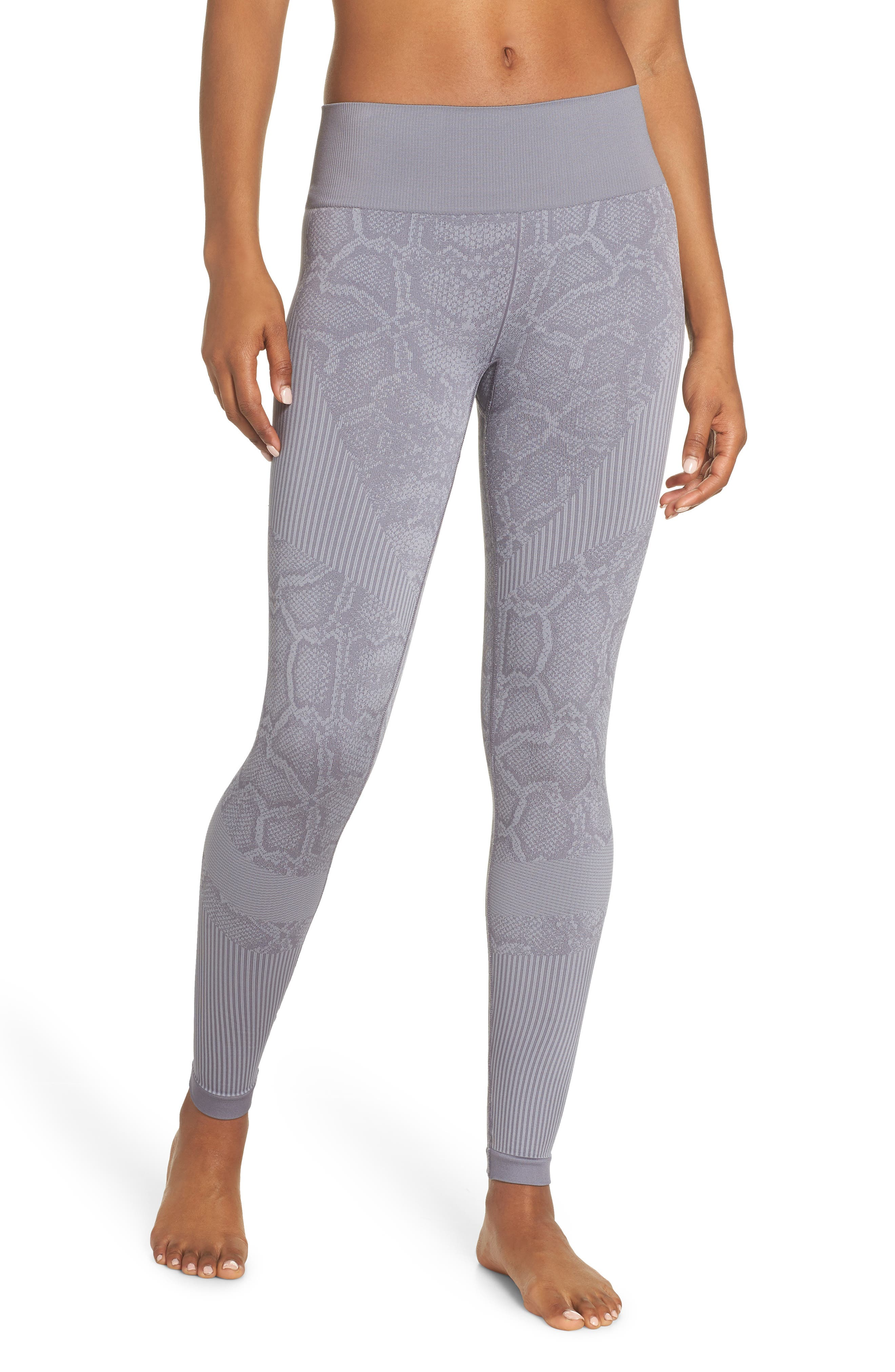 Quincy Seamless Leggings,                             Main thumbnail 1, color,                             GREY SNAKE