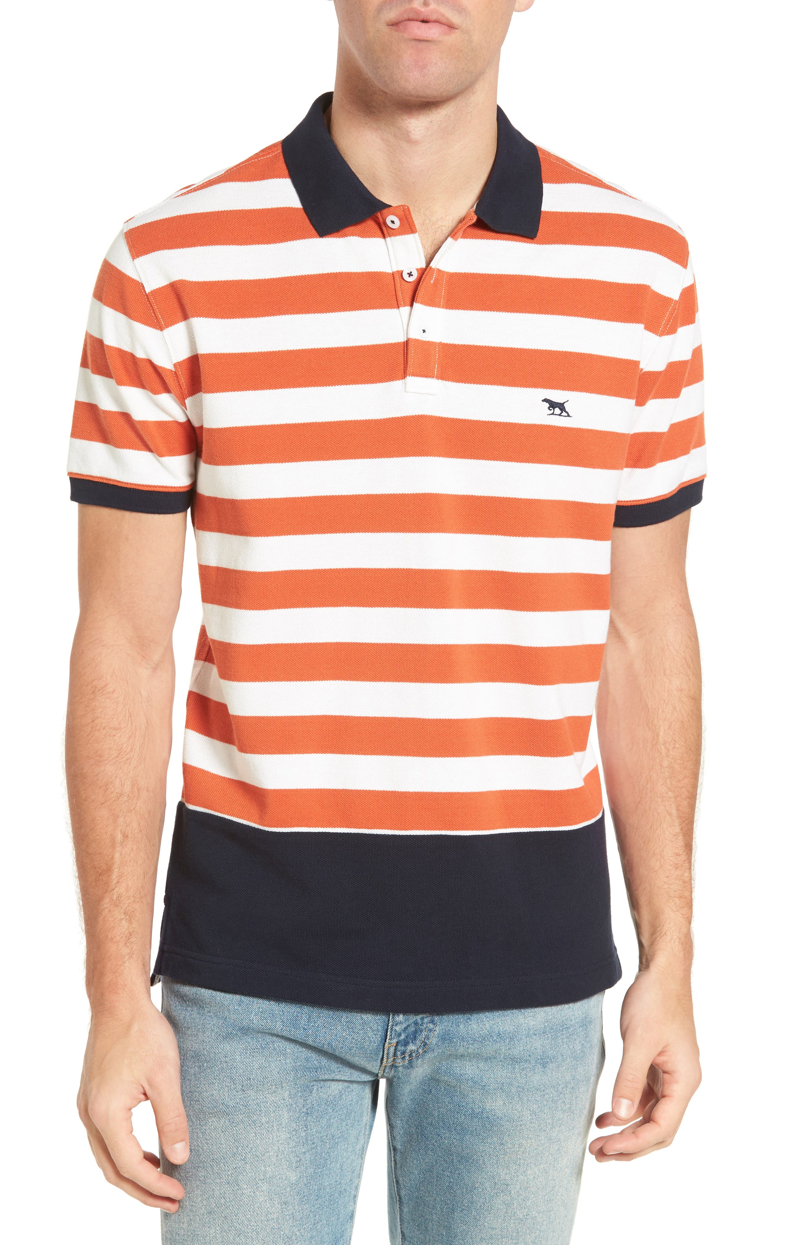 Wallingford Sport Fit Stripe Polo,                         Main,                         color, 621