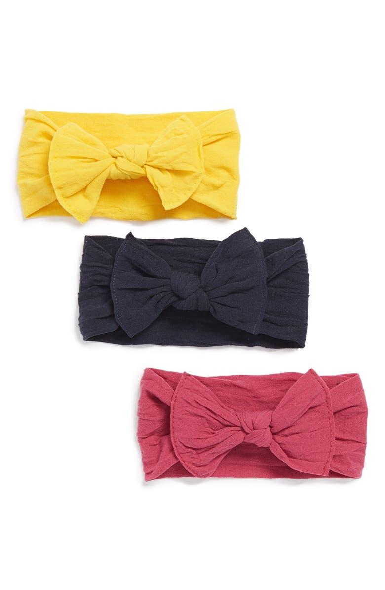 Baby Bling Bow Stretch Headband (3-Pack) (Baby Girls) (Online Only ... bfc8e4fd8fb