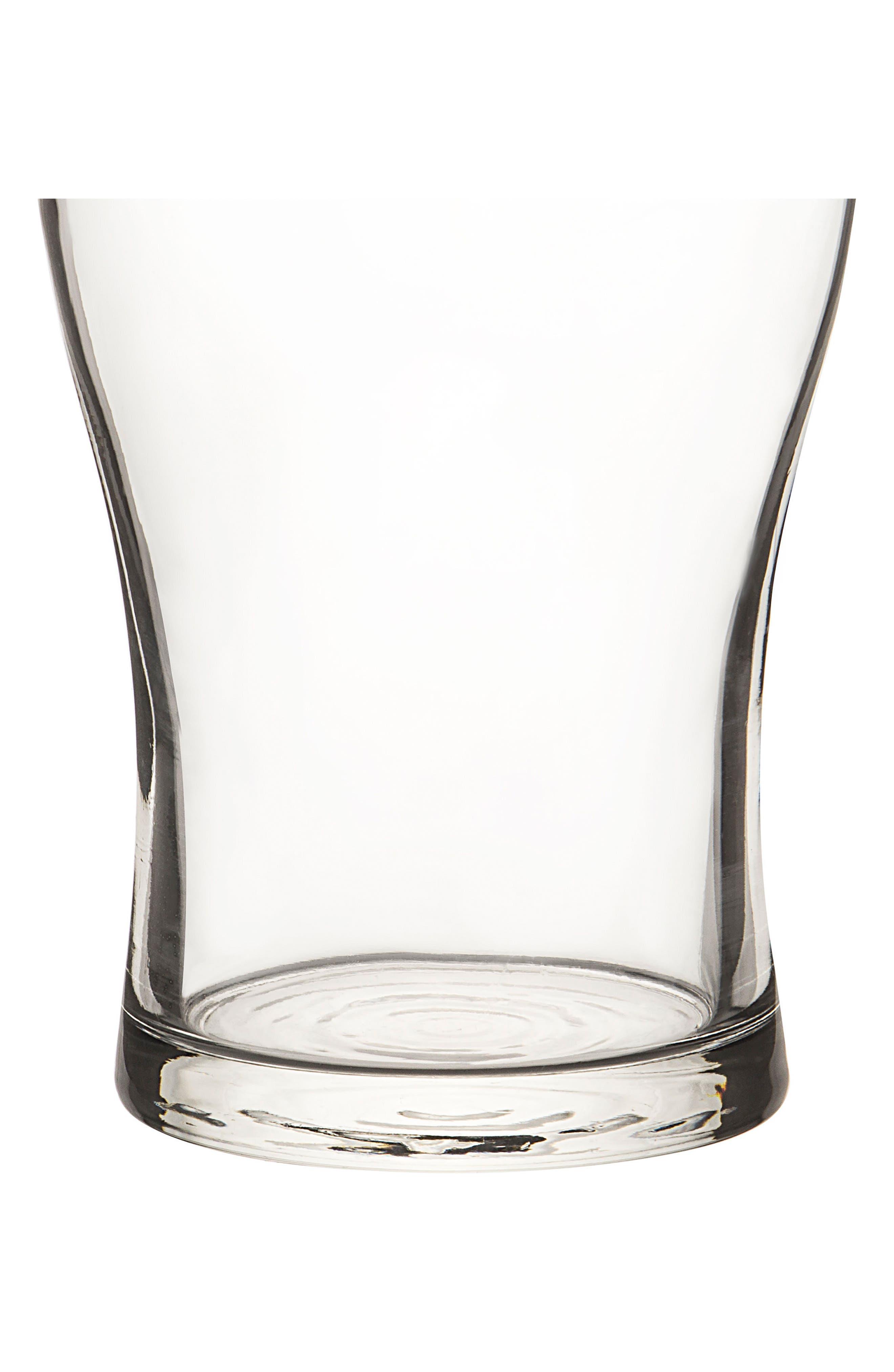 Beer Pun Set of 4 Pilsner Glasses,                             Alternate thumbnail 5, color,                             100
