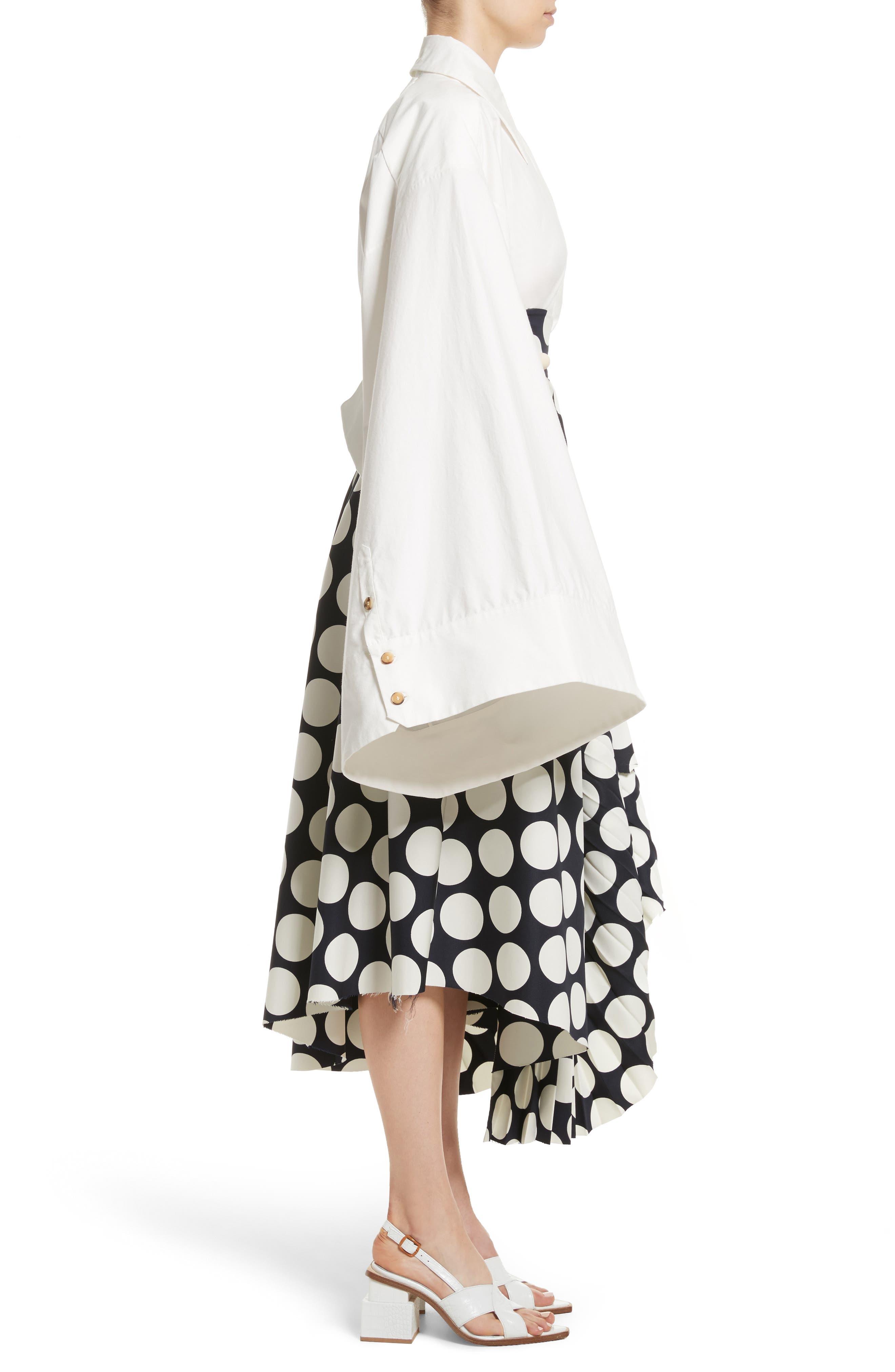 Kimono Sleeve Shirt,                             Alternate thumbnail 3, color,                             100
