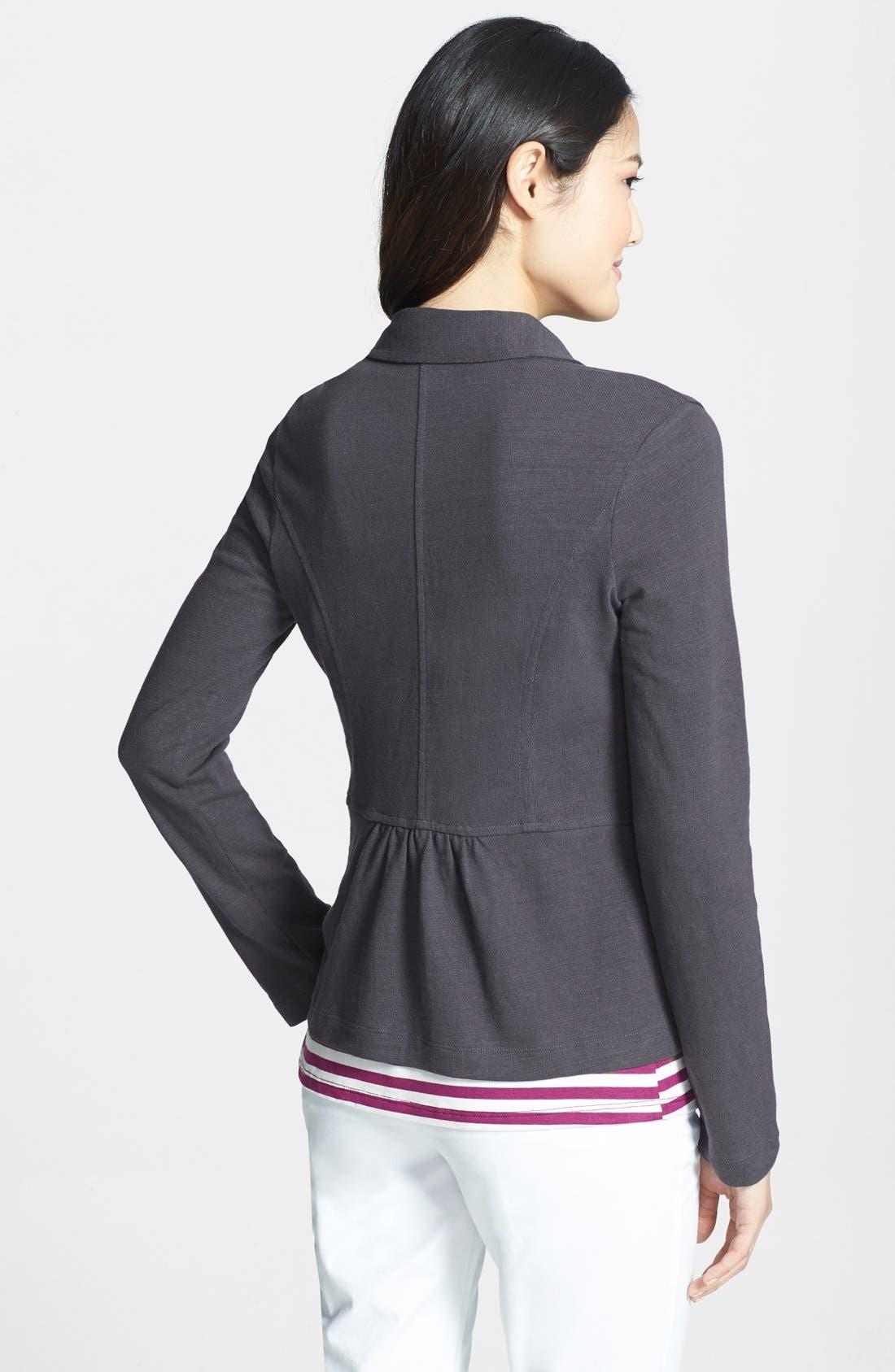 Cotton Knit Jacket,                             Alternate thumbnail 12, color,