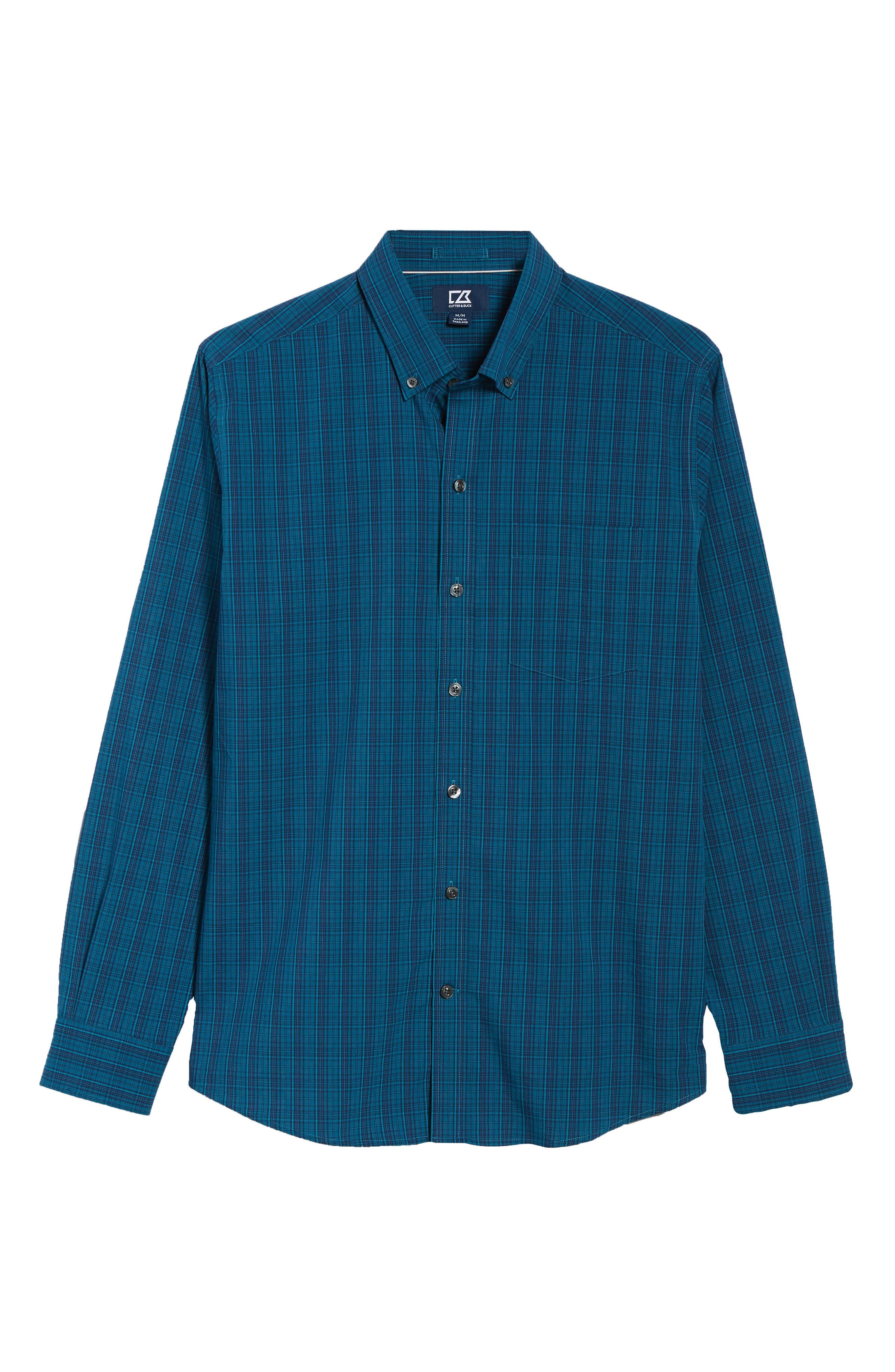 Logan Regular Fit Non-Iron Sport Shirt,                             Alternate thumbnail 5, color,                             400