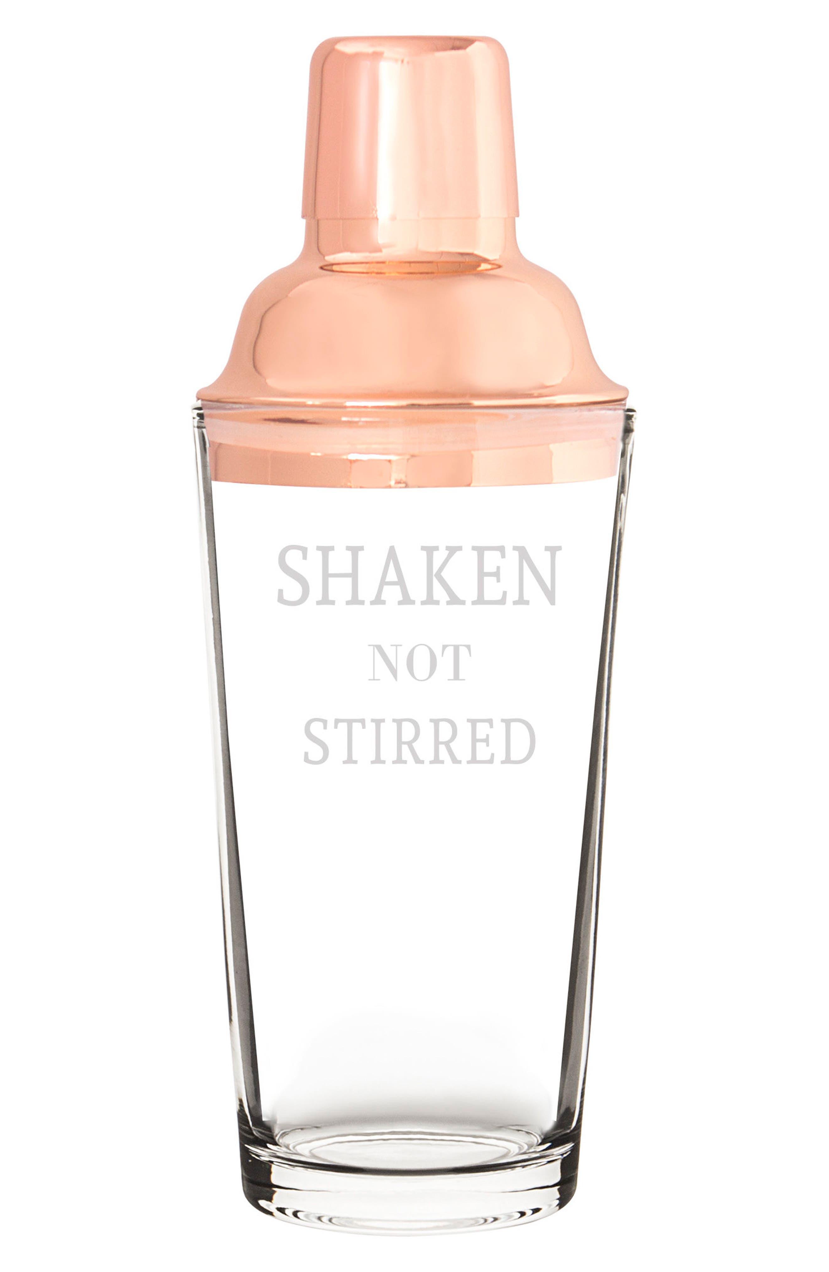 Shaken Not Stirred Cocktail Shaker,                             Main thumbnail 2, color,