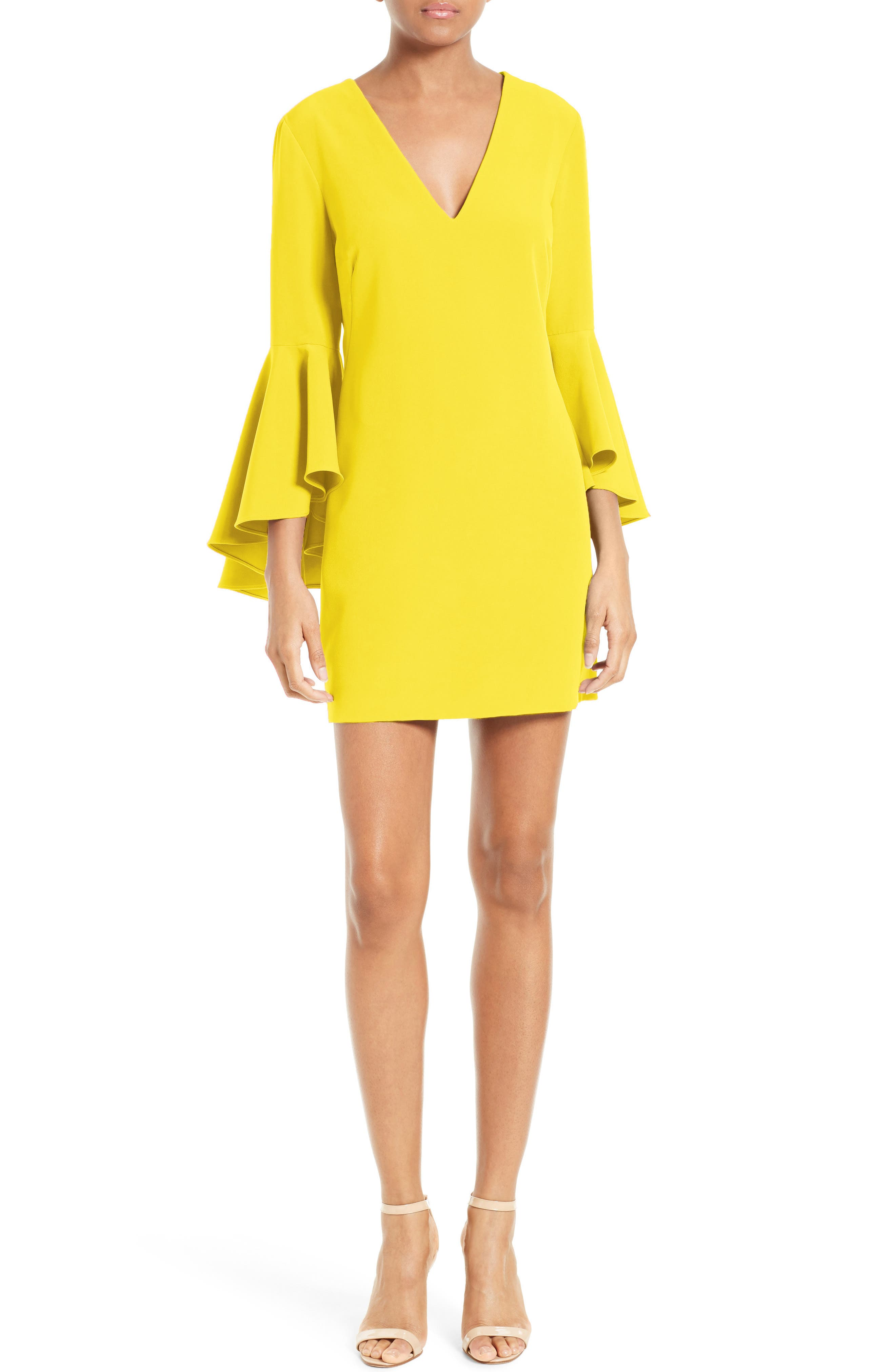 Nicole Bell Sleeve Dress,                             Main thumbnail 15, color,