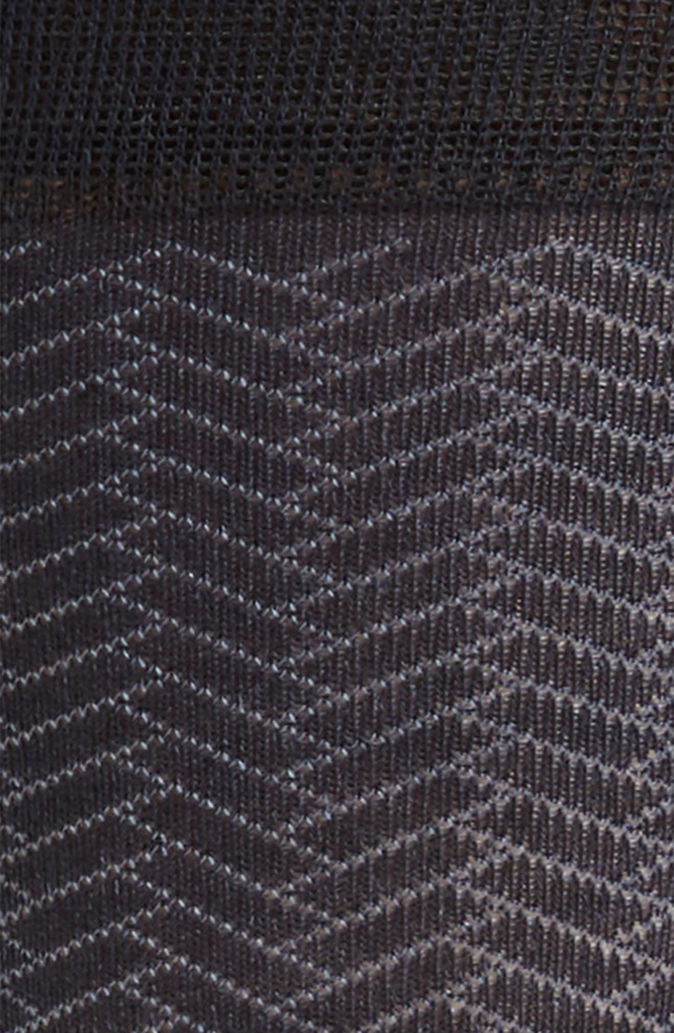 Geometric Crew Socks,                             Alternate thumbnail 2, color,                             NAVY