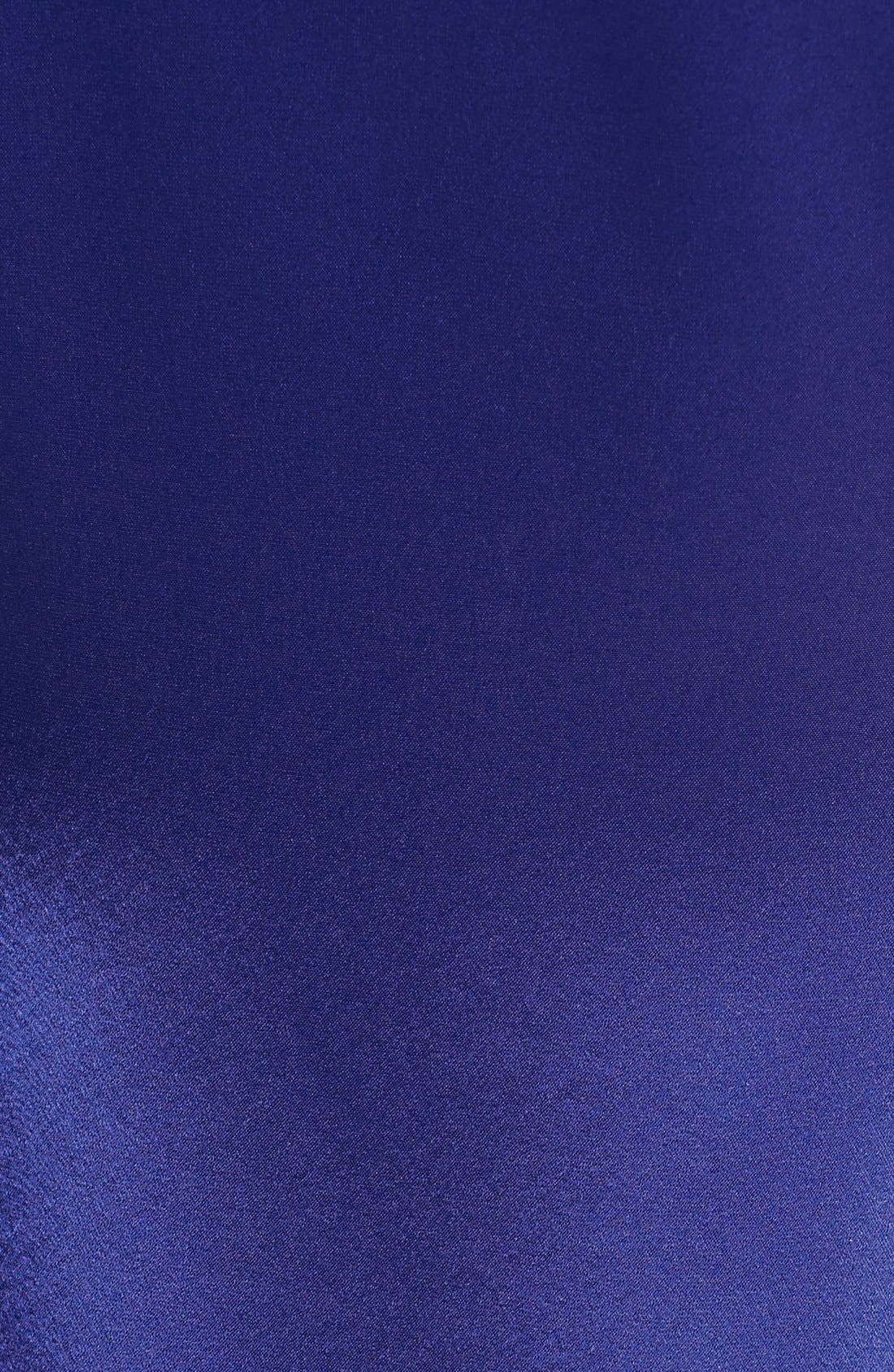 Liquid Satin Cowl Neck Dress,                             Alternate thumbnail 2, color,                             400