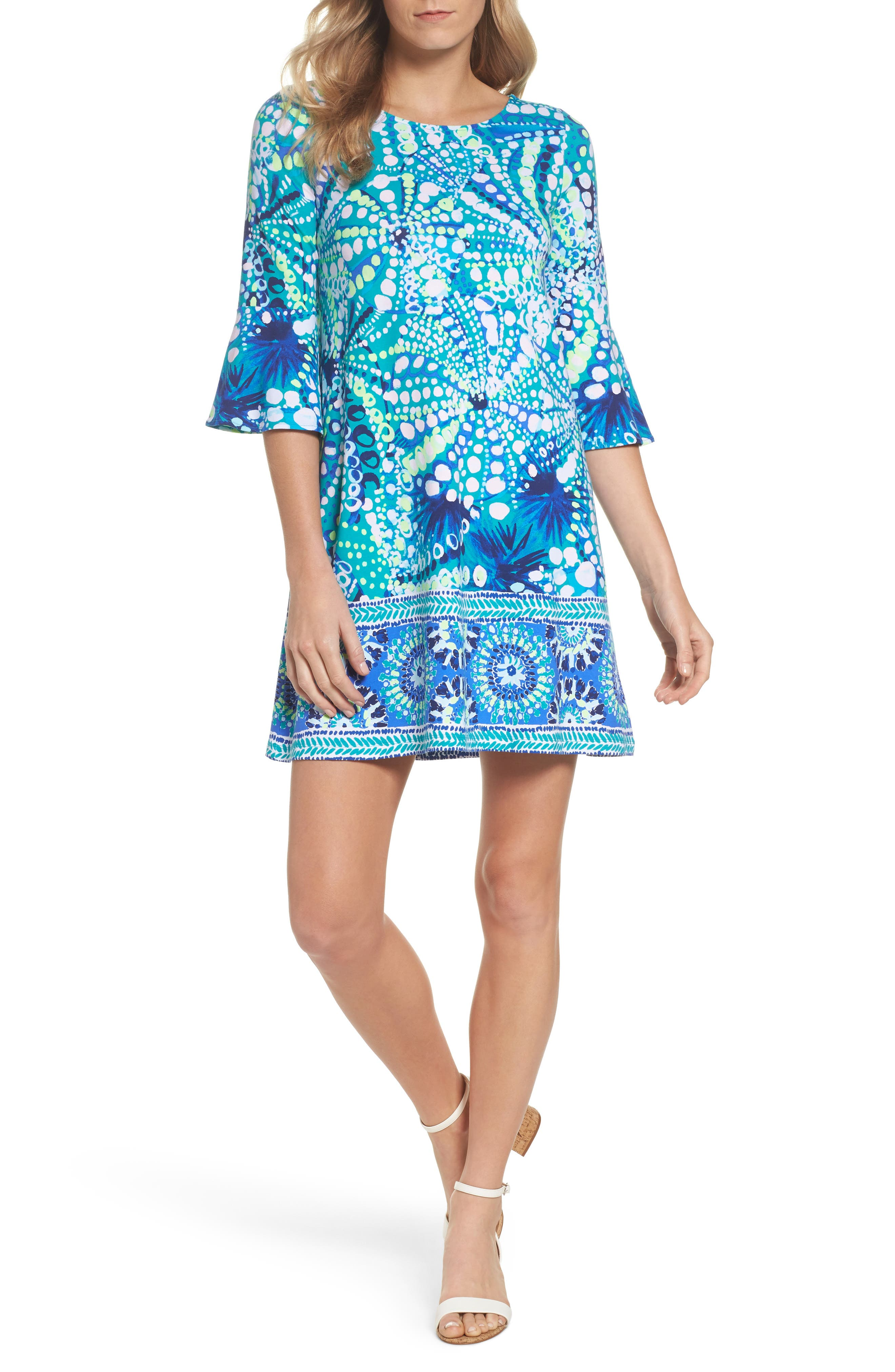 Ophelia Swing Dress,                         Main,                         color, 391