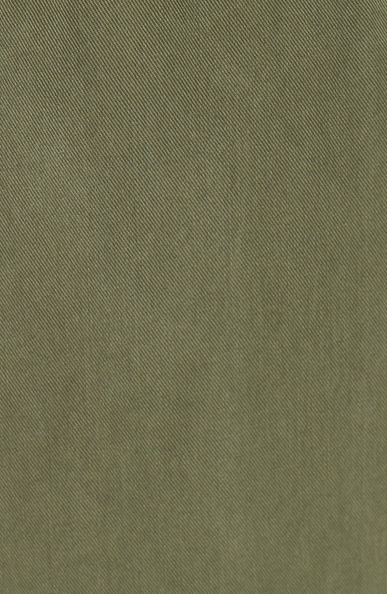 Twill Jogger Pants,                             Alternate thumbnail 6, color,                             HUNTER GREEN