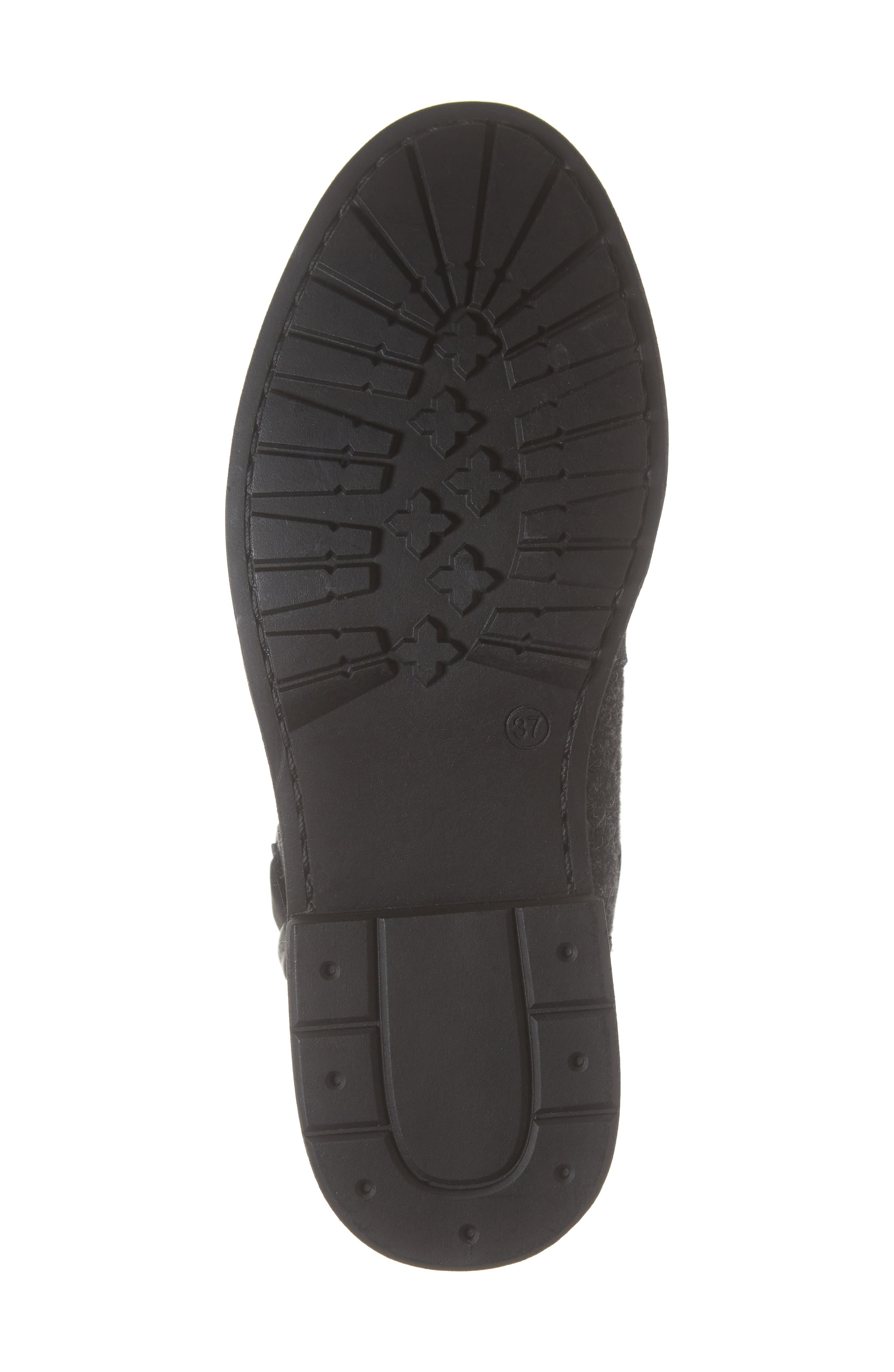 Pioneer Bootie,                             Alternate thumbnail 6, color,                             BLACK LEATHER