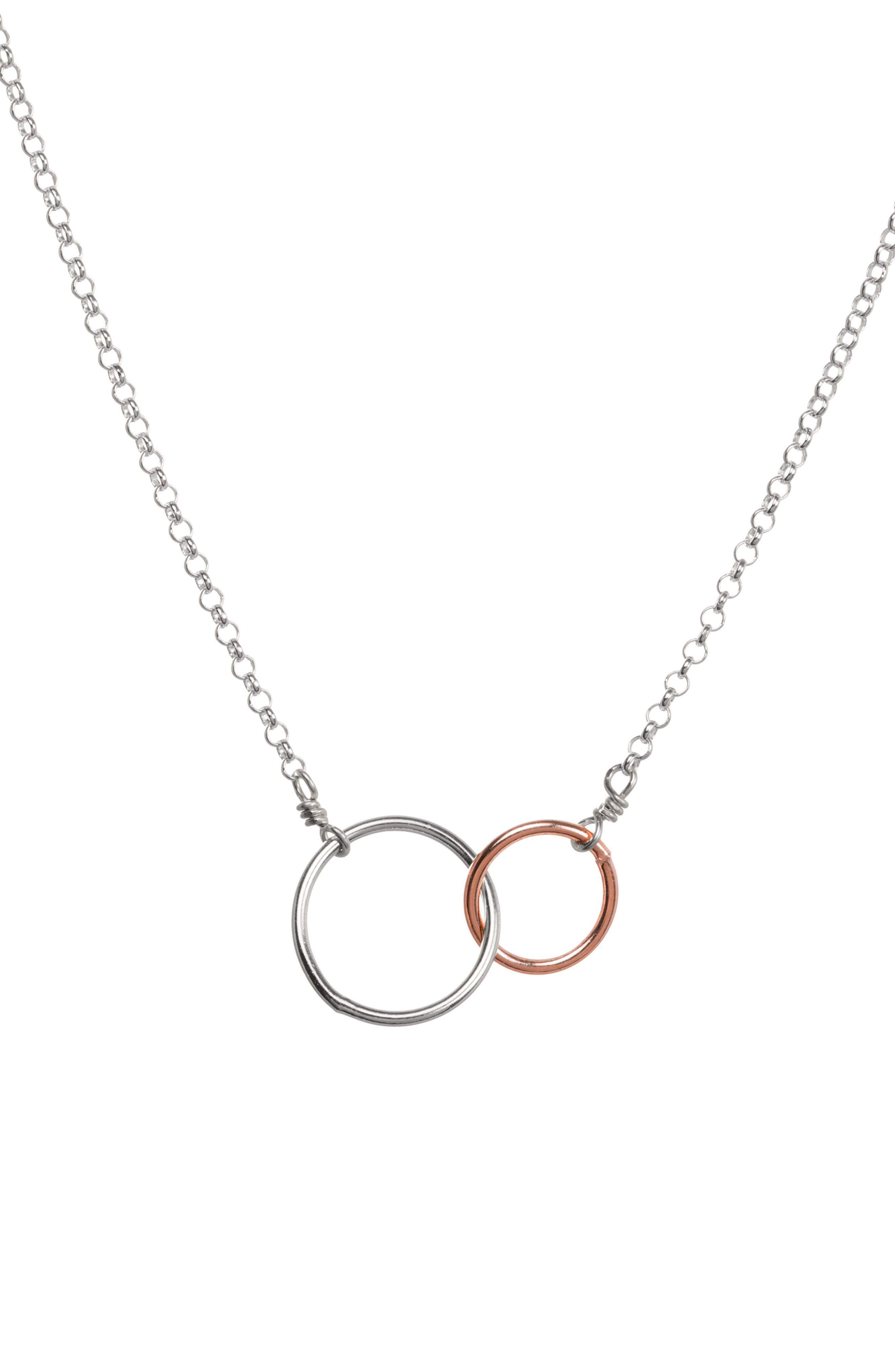 Friends for Life Necklace,                             Alternate thumbnail 5, color,