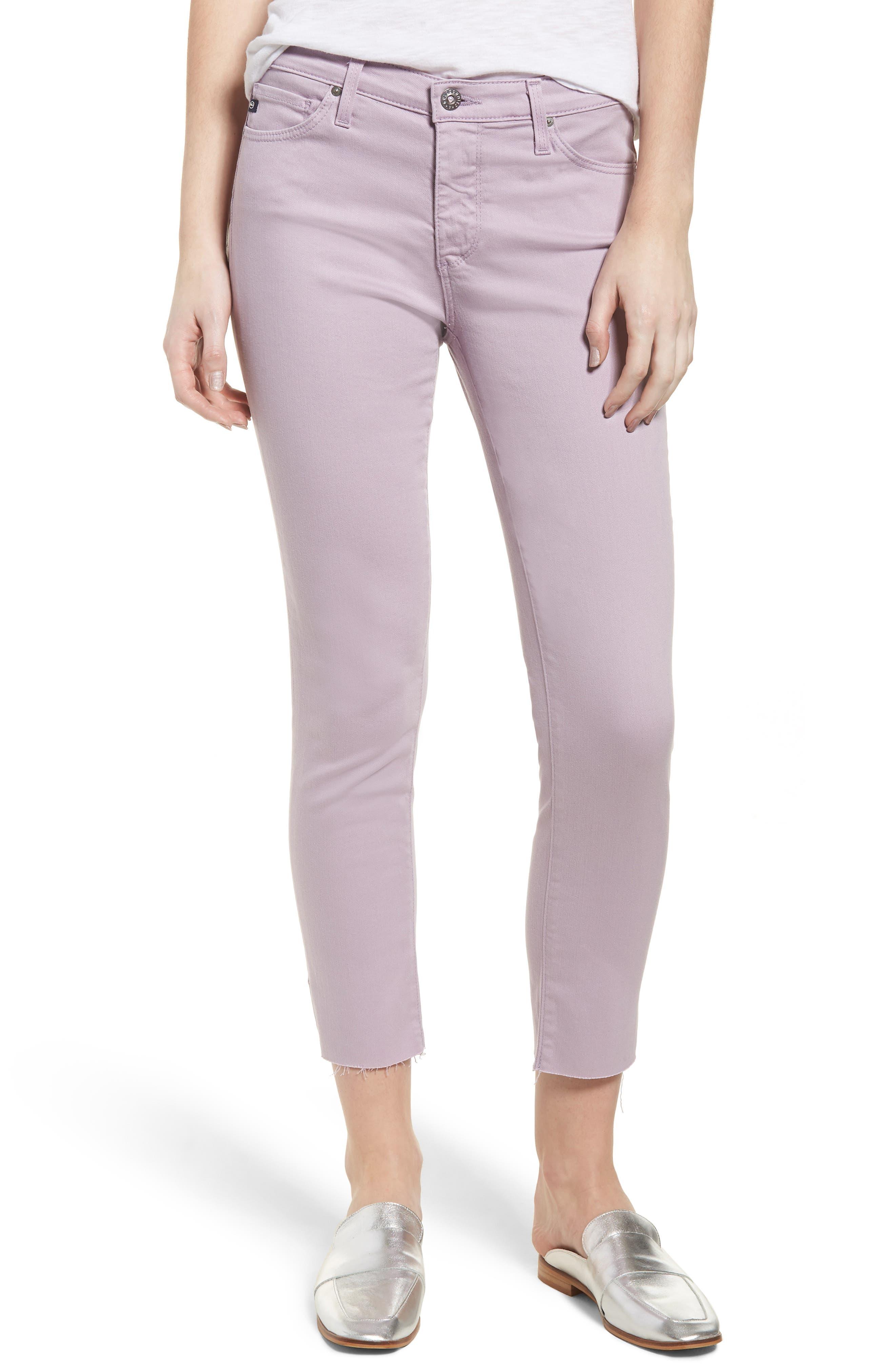 The Prima Crop Cigarette Jeans,                         Main,                         color,