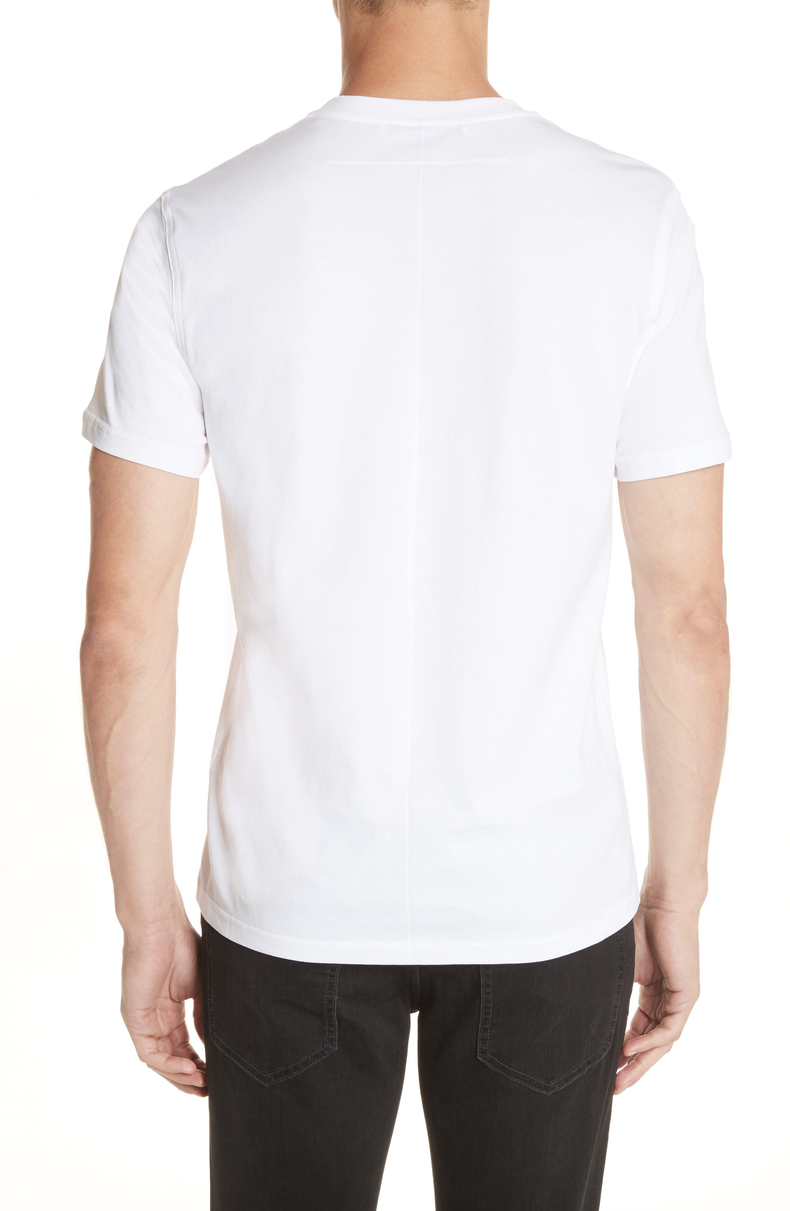 Sequin Logo T-Shirt,                             Alternate thumbnail 2, color,                             100