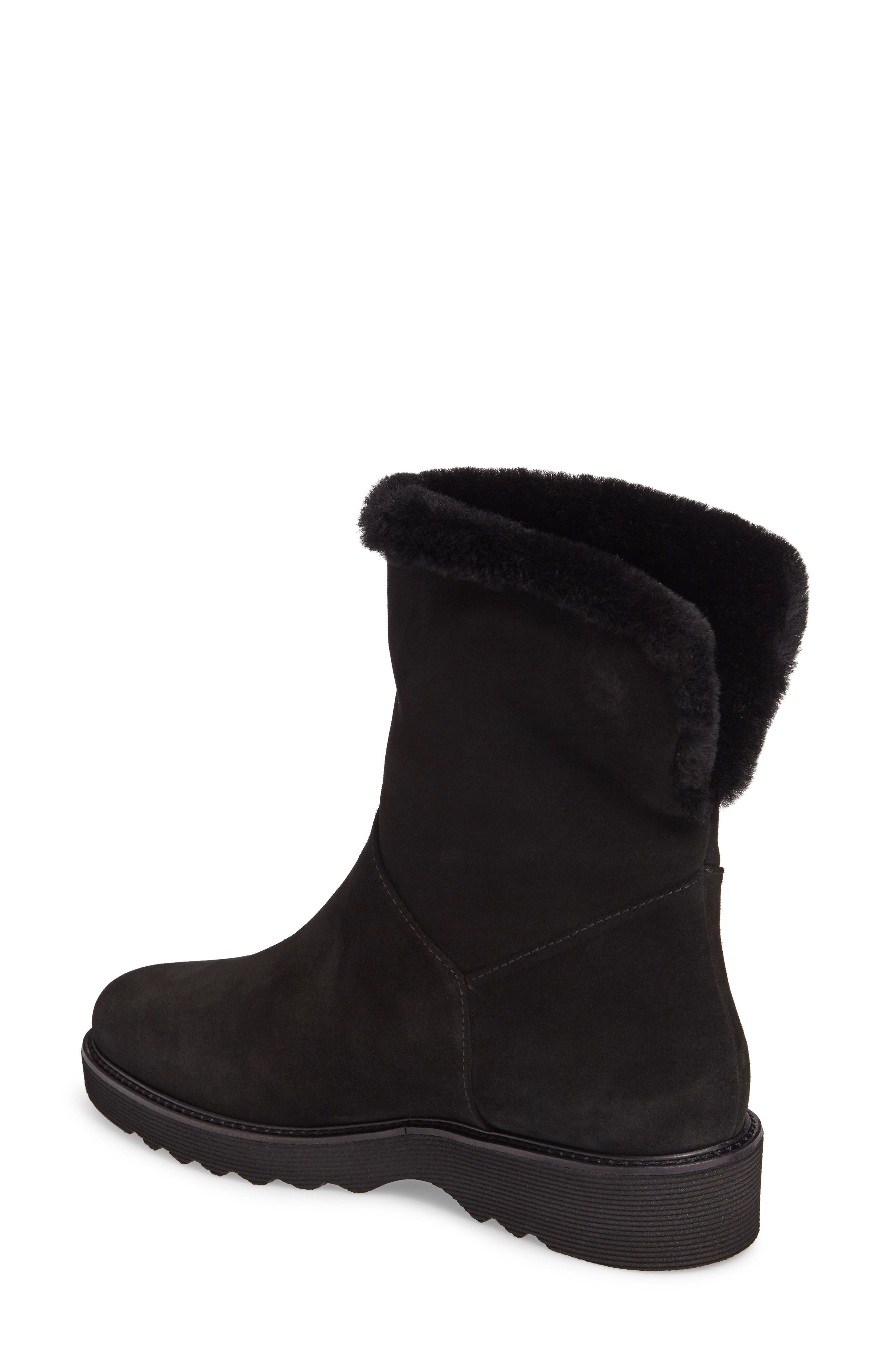 Kimberly Weatherproof Genuine Shearling Bootie,                             Alternate thumbnail 5, color,
