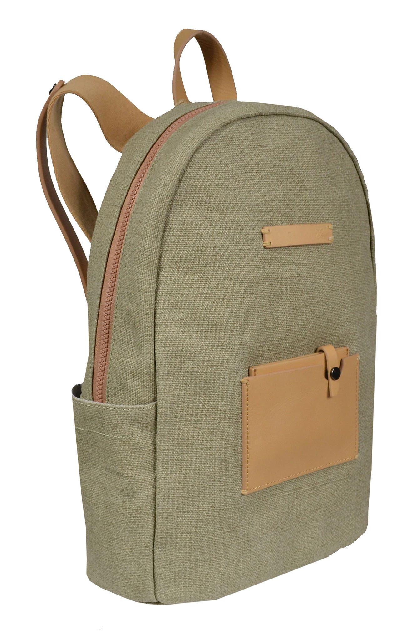 Indie Boiled Wool Backpack,                             Alternate thumbnail 16, color,