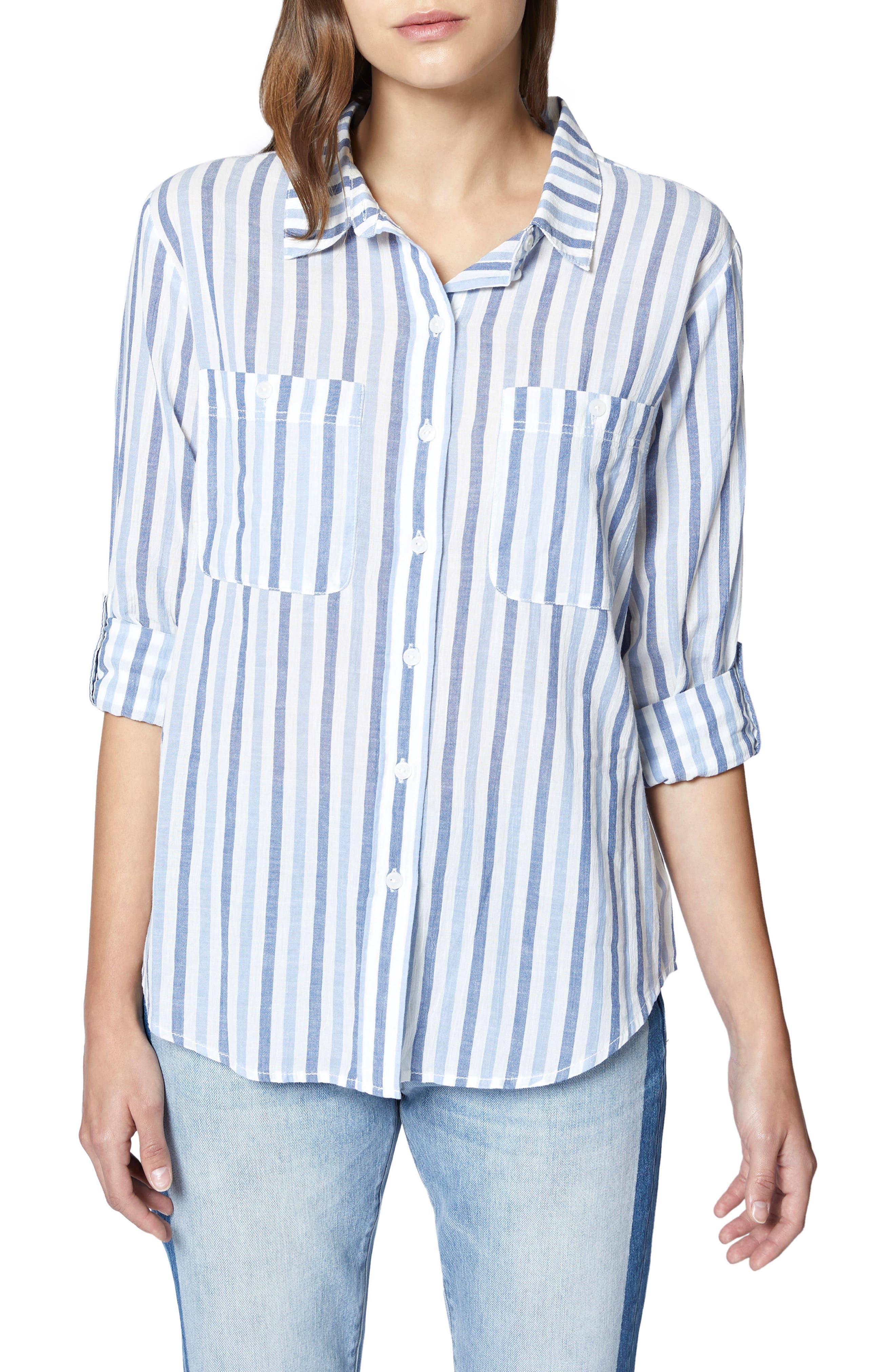 The Steady Boyfriend Shirt,                         Main,                         color, 401