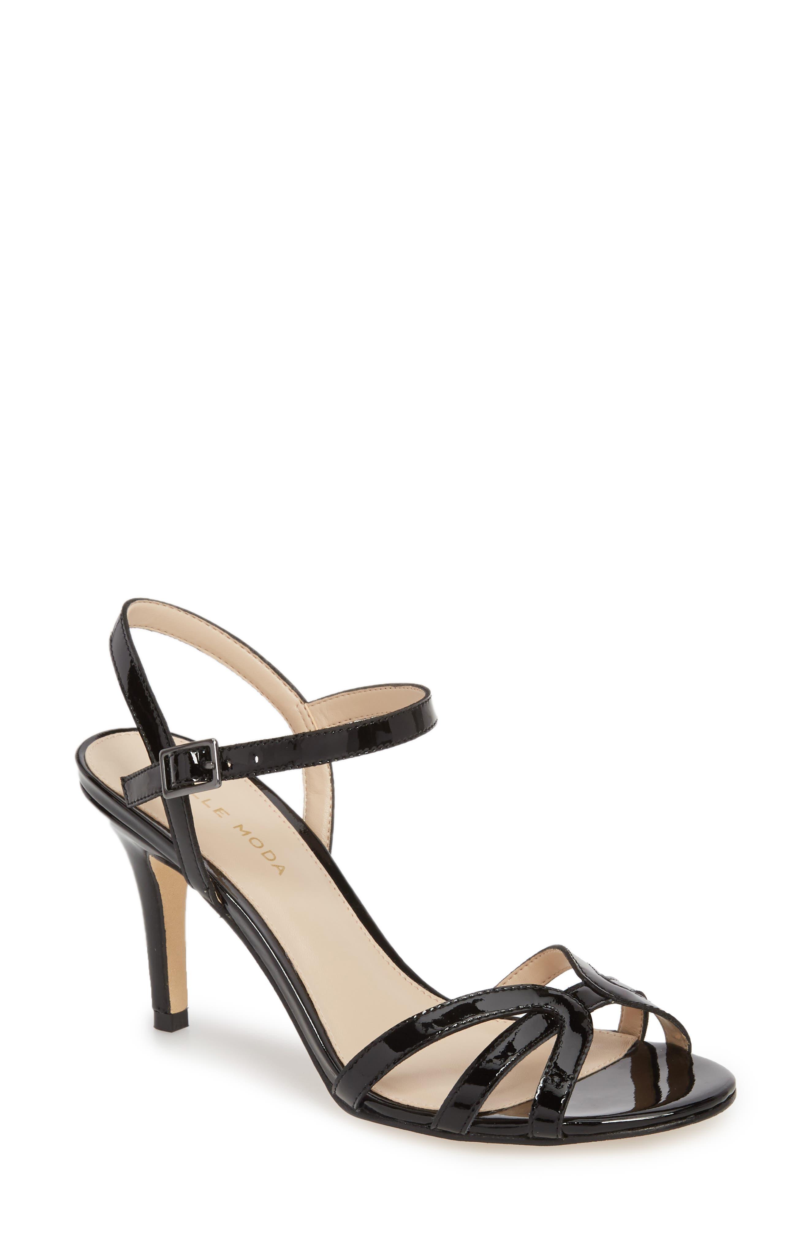 Roslyn3 Sandal,                         Main,                         color, BLACK PATENT LEATHER