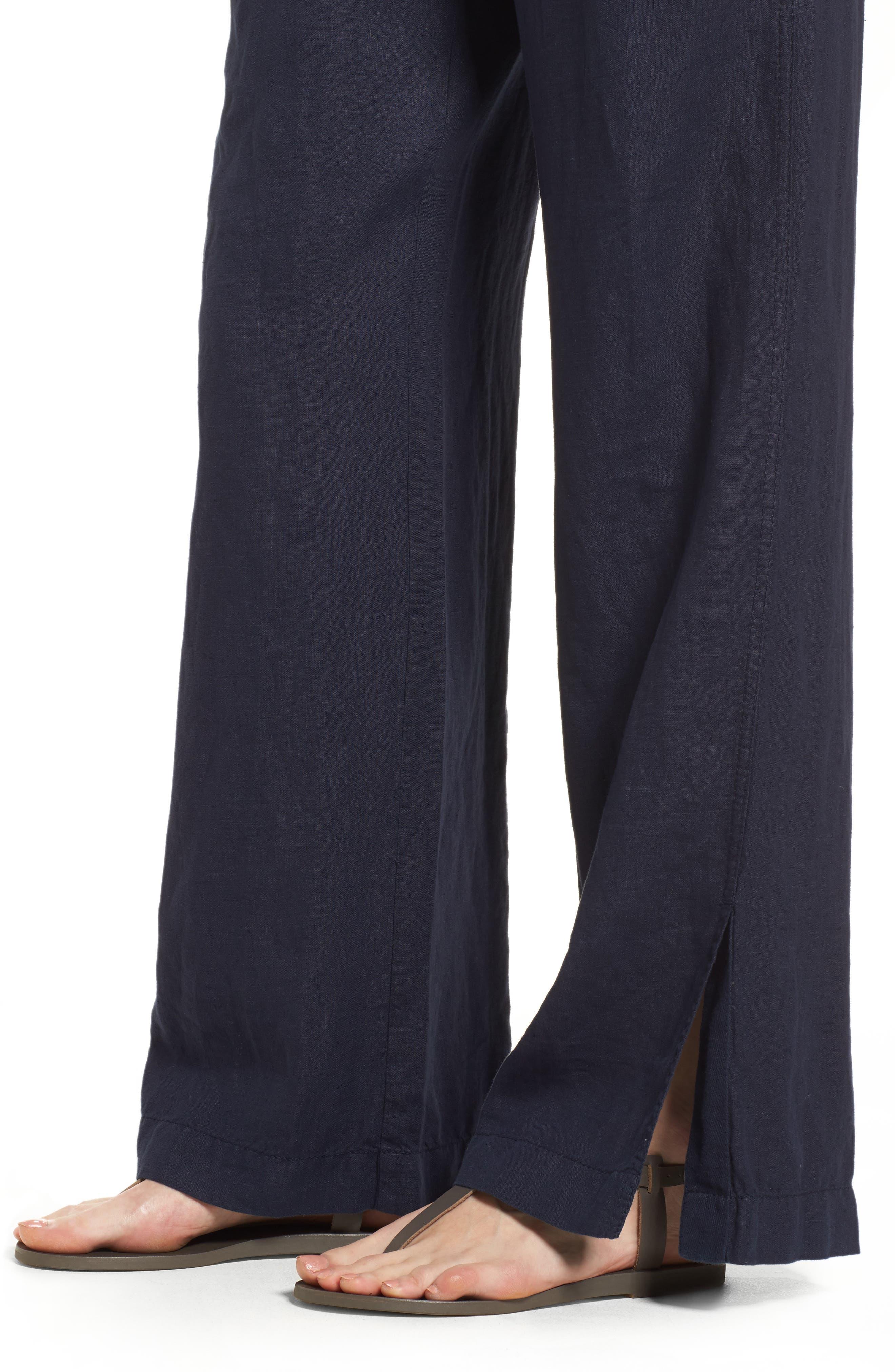 Linen Track Pants,                             Alternate thumbnail 19, color,