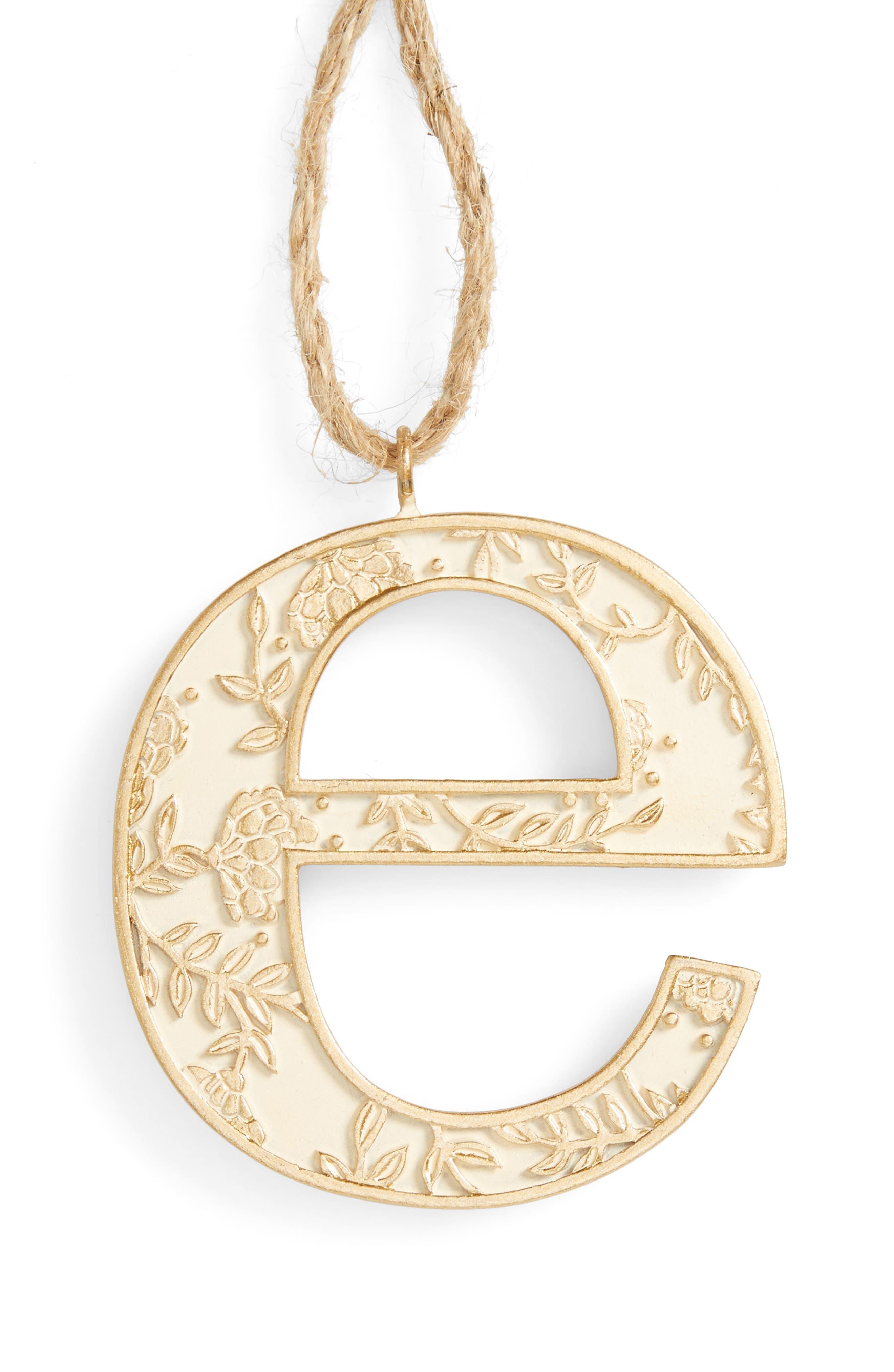Letter Ornament,                             Main thumbnail 5, color,