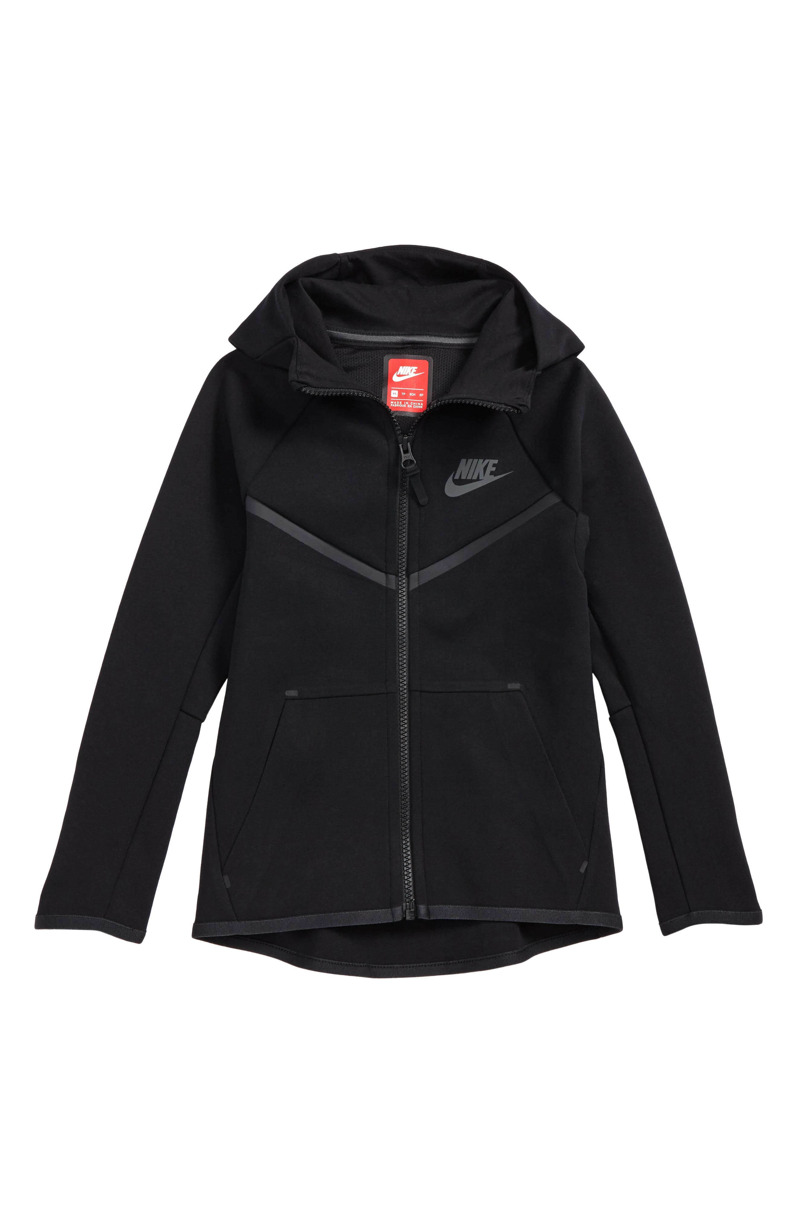 Sportswear Tech Windrunner Zip Hoodie,                             Main thumbnail 1, color,