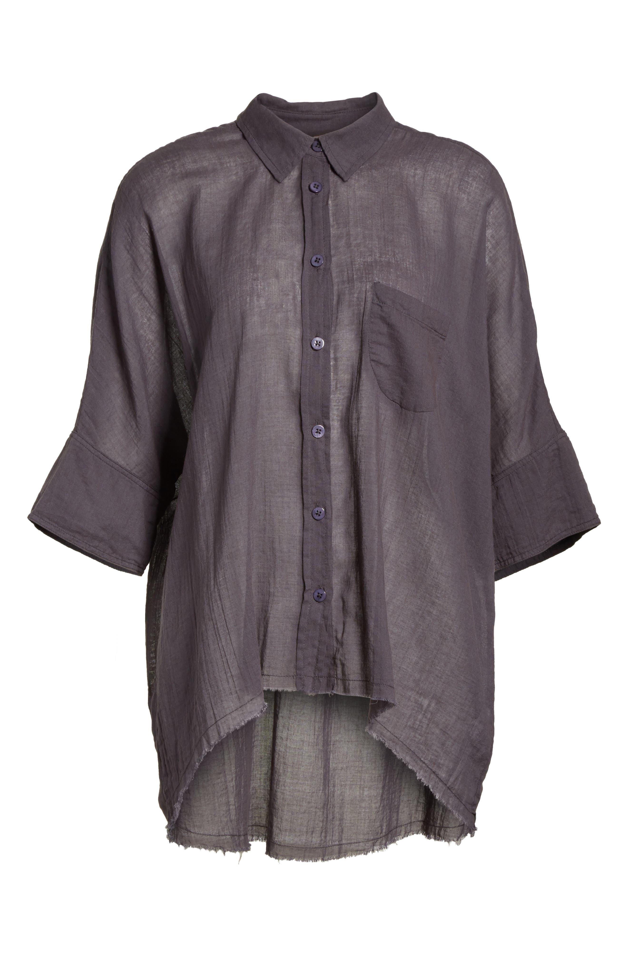Best of Me Button Down Shirt,                             Alternate thumbnail 6, color,                             001