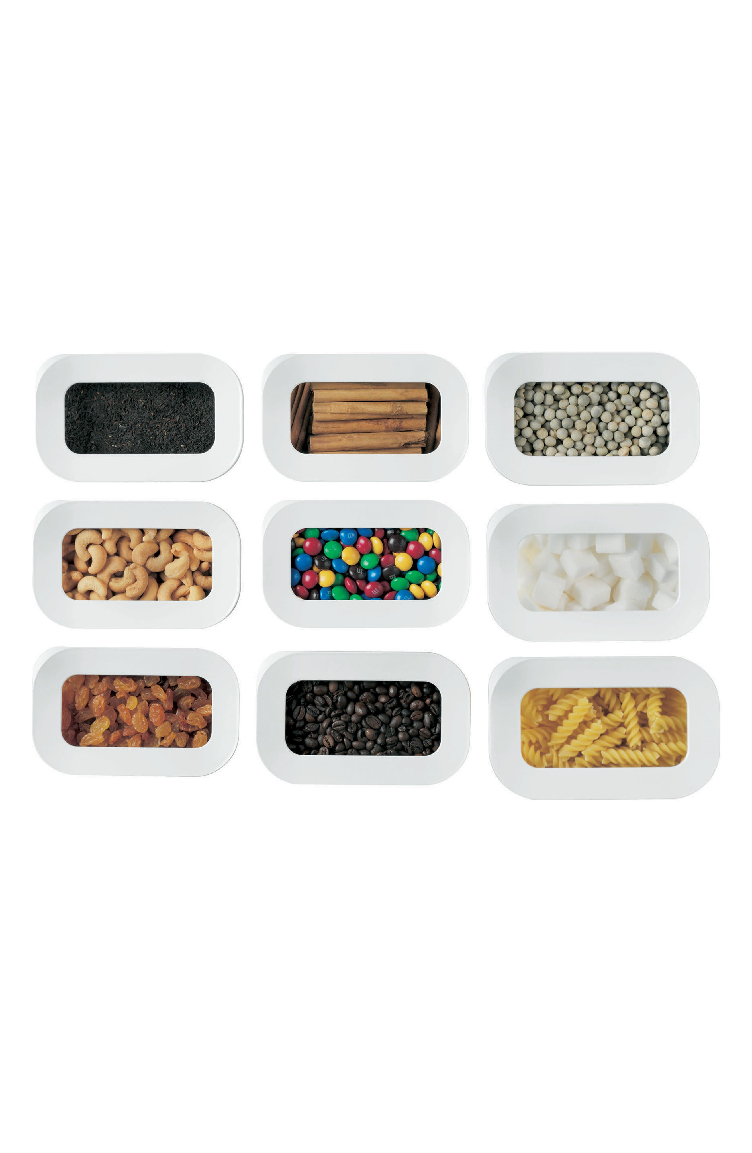 Modula 5-Piece Storage Box Starter Set,                             Alternate thumbnail 3, color,                             WHITE