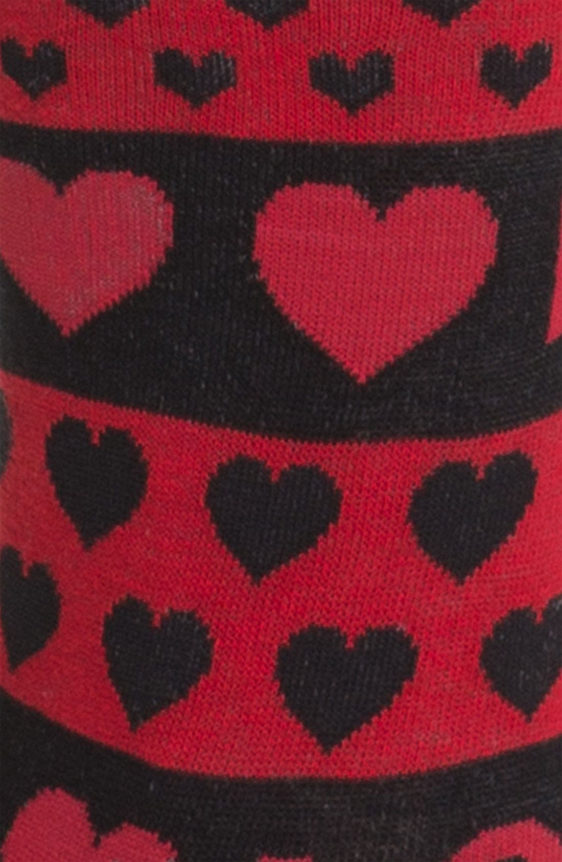 'Hugs & Kisses' Socks,                             Alternate thumbnail 2, color,                             001