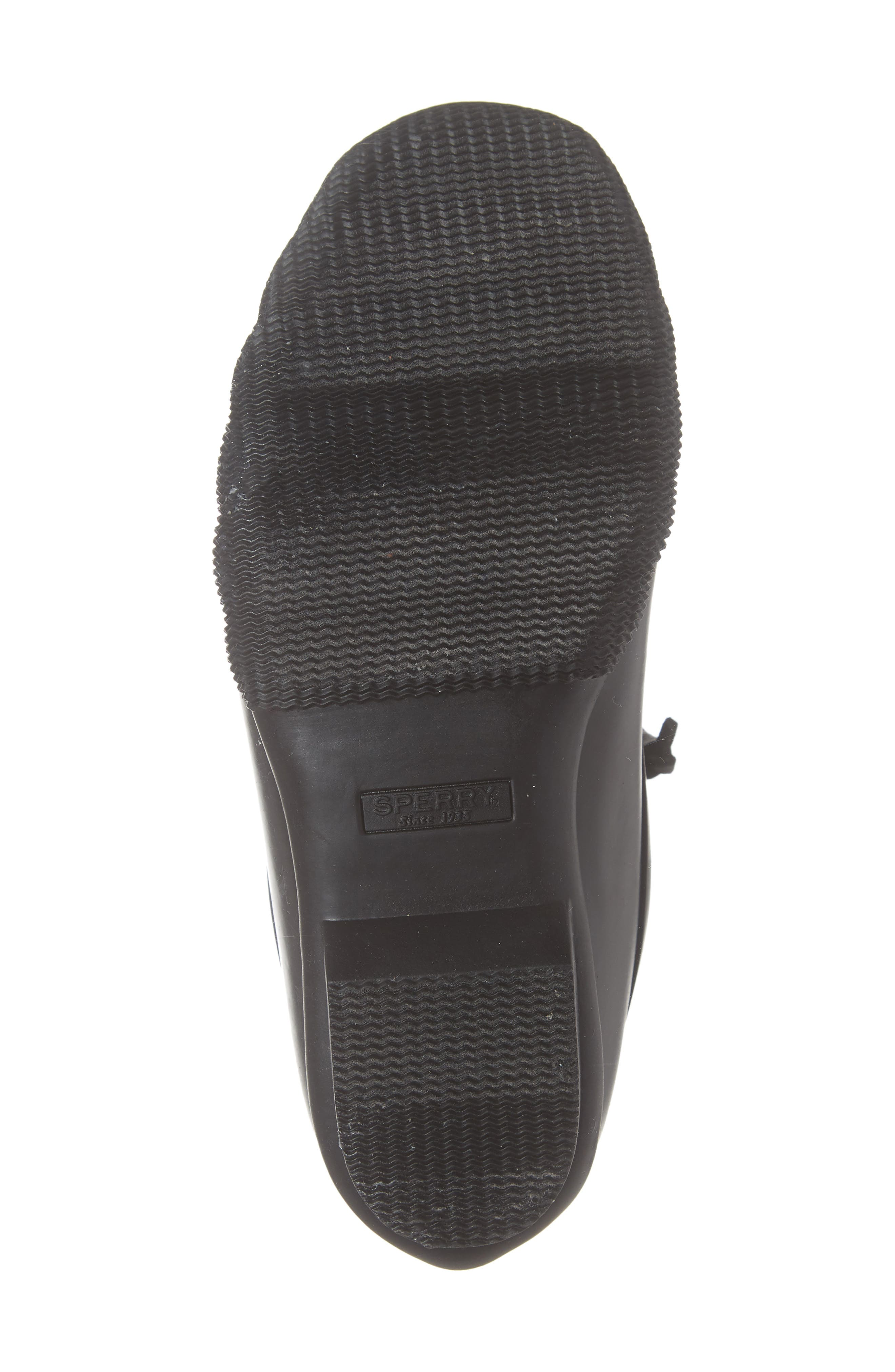 Flooded Rubber Saltwater Bootie,                             Alternate thumbnail 6, color,                             BLACK