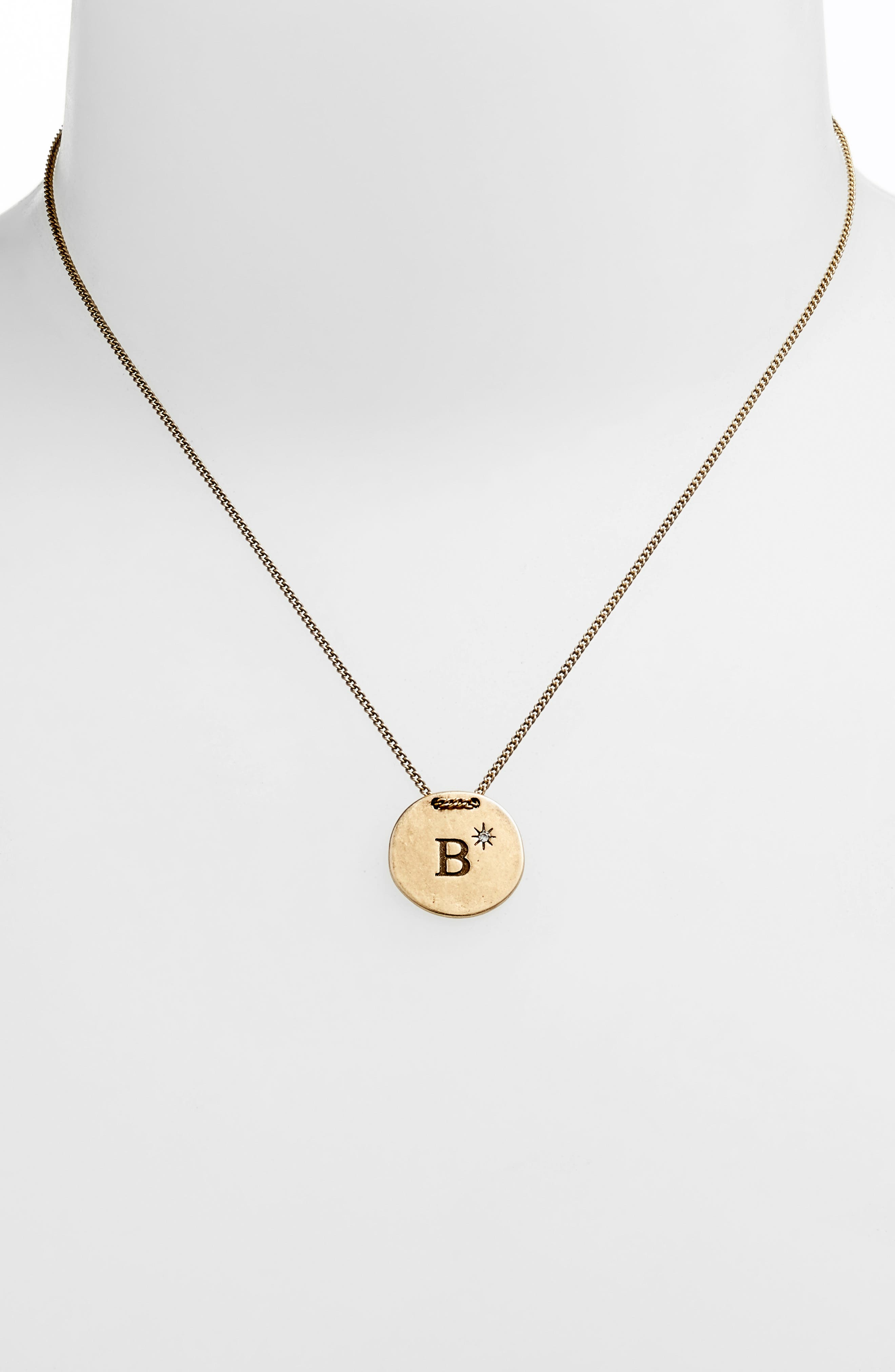 Initial Collar Necklace,                             Alternate thumbnail 67, color,