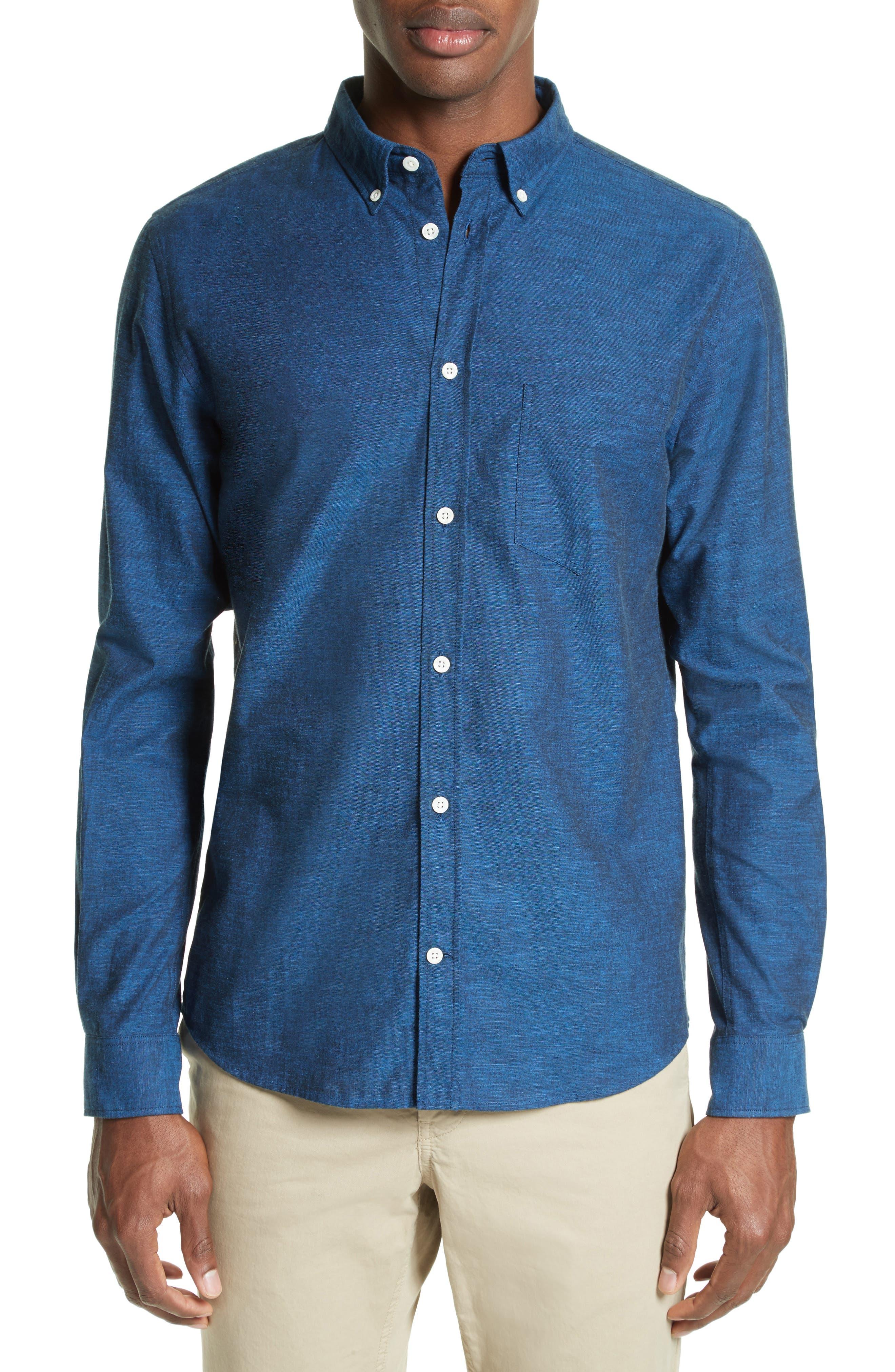 Woven Shirt,                             Main thumbnail 1, color,                             400