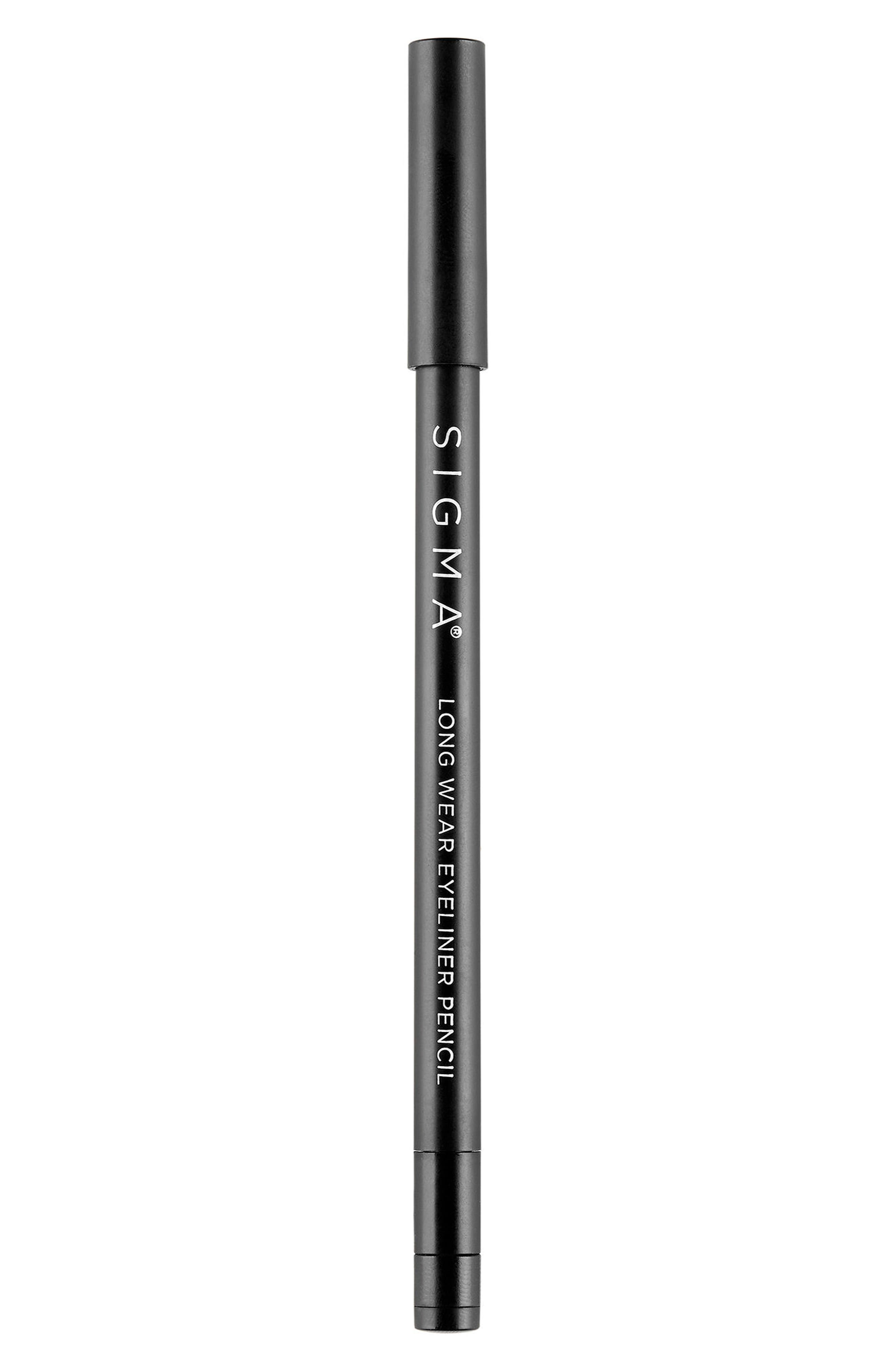 Wicked Long Wear Pencil Eyeliner,                             Main thumbnail 1, color,                             BLACK