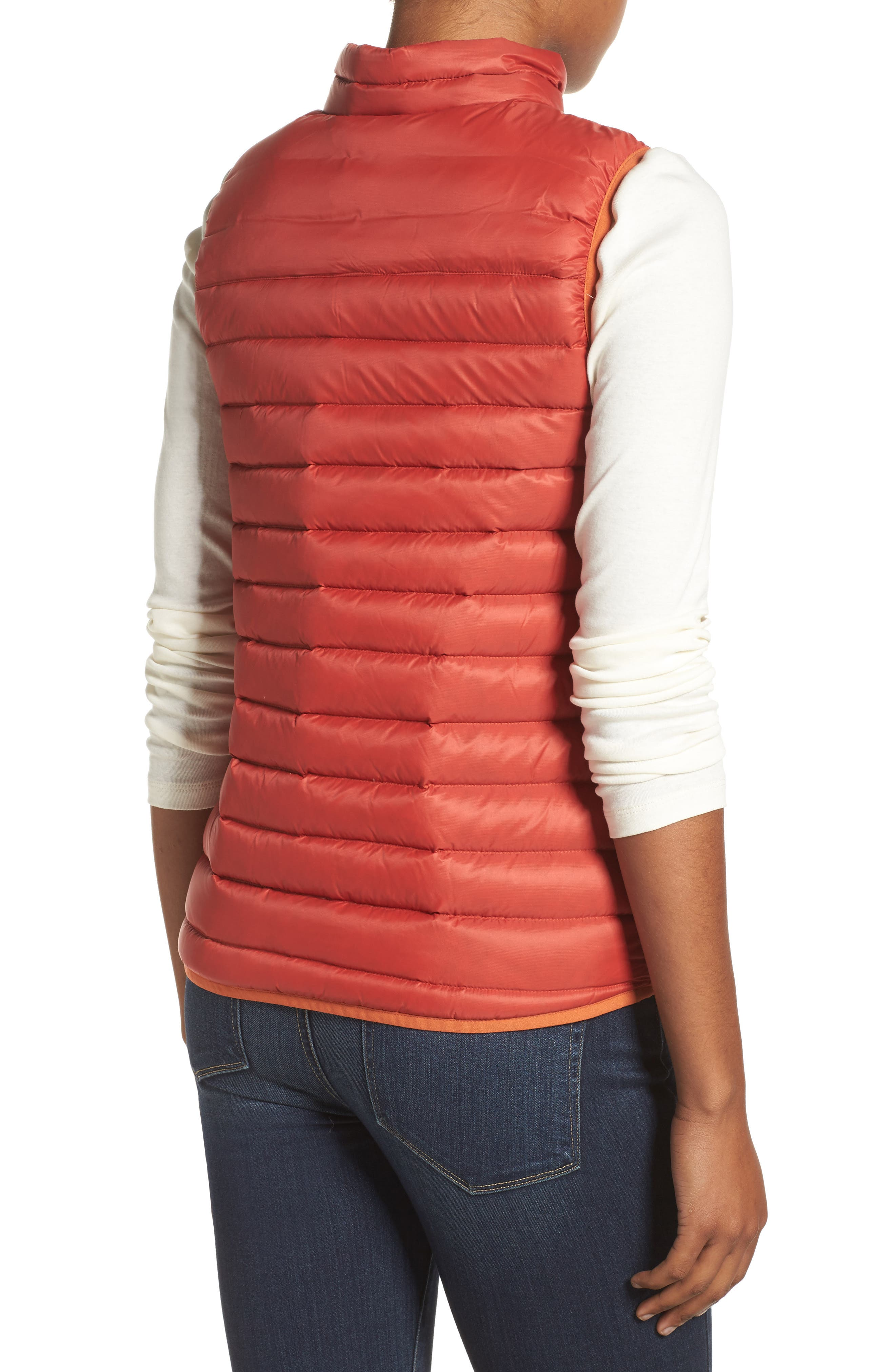 Evergreen Water-Resistant Down Insulator Vest,                             Alternate thumbnail 4, color,