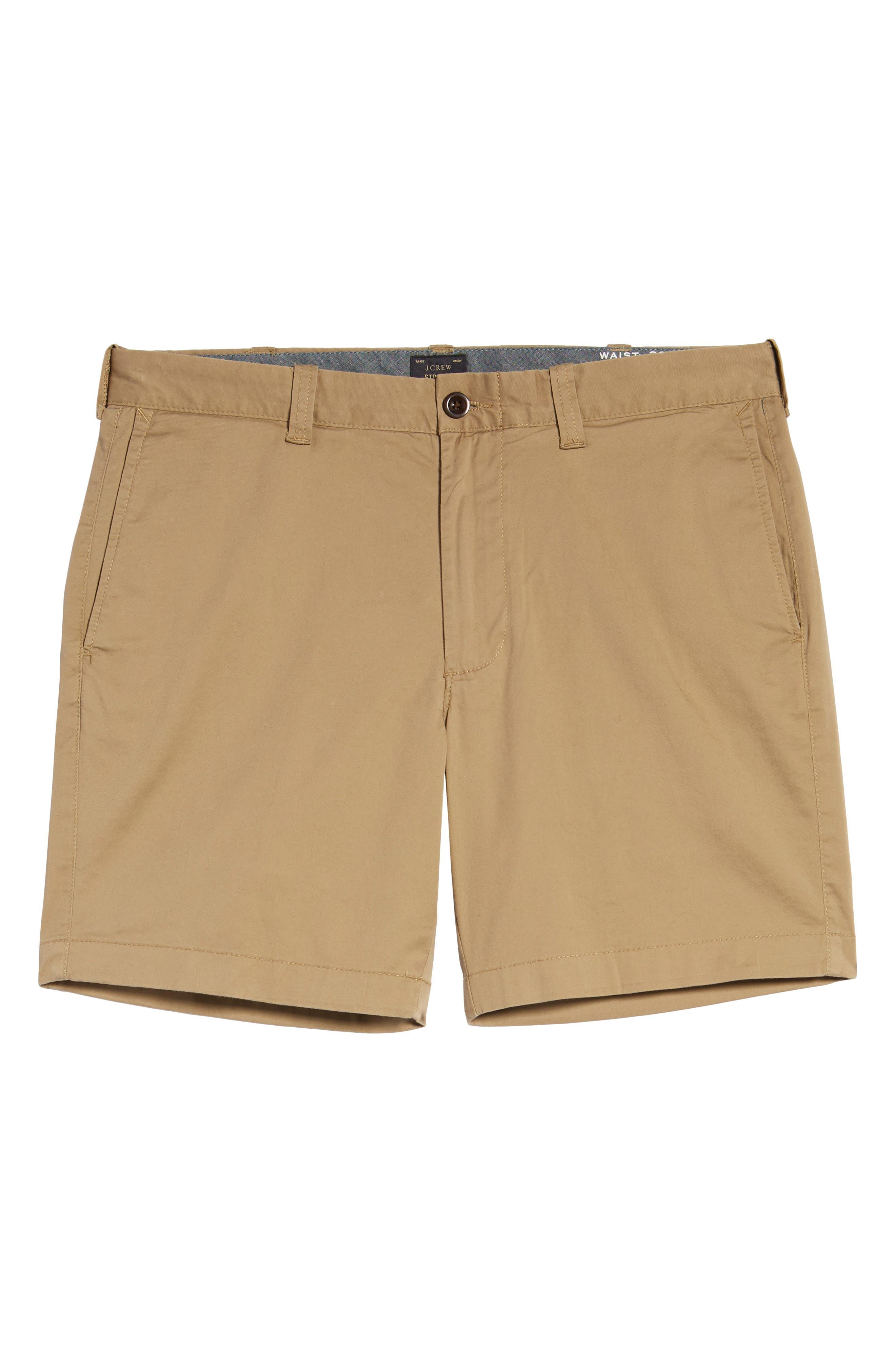 Stretch Cotton Shorts,                             Alternate thumbnail 19, color,