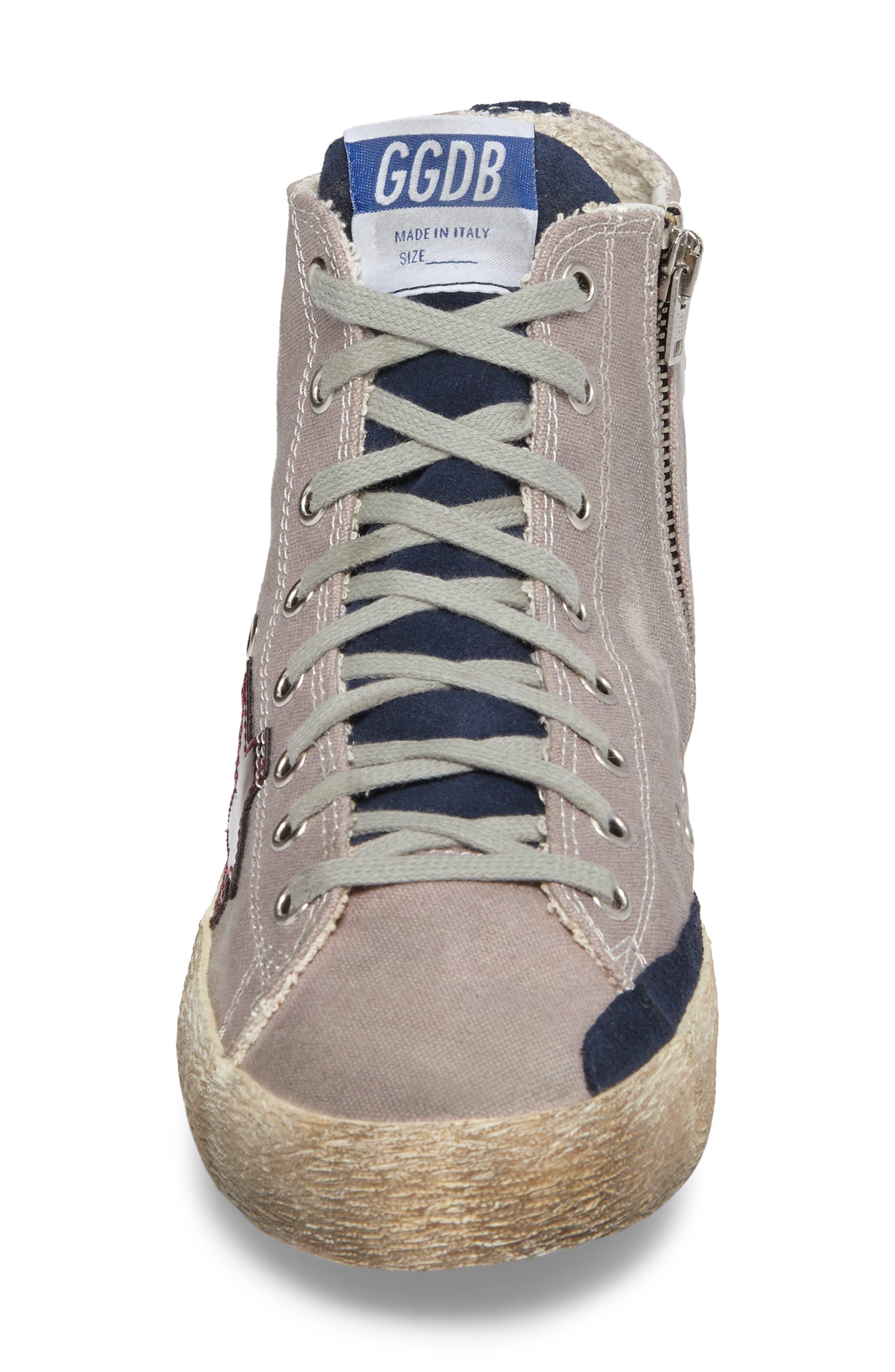 Francy Mid Top Sneaker,                             Alternate thumbnail 4, color,                             530