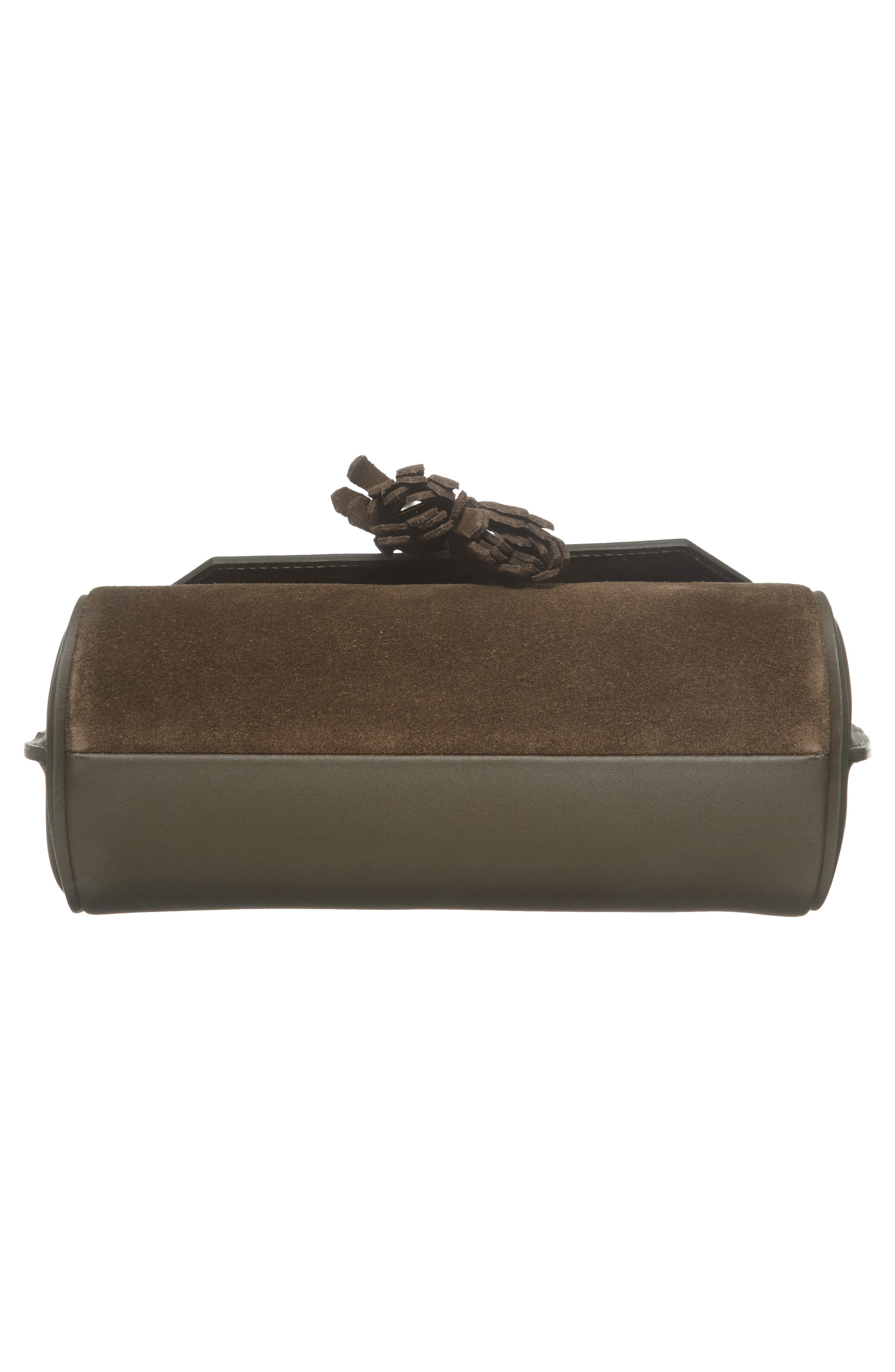 Small Penelope Leather Crossbody Bag,                             Alternate thumbnail 6, color,