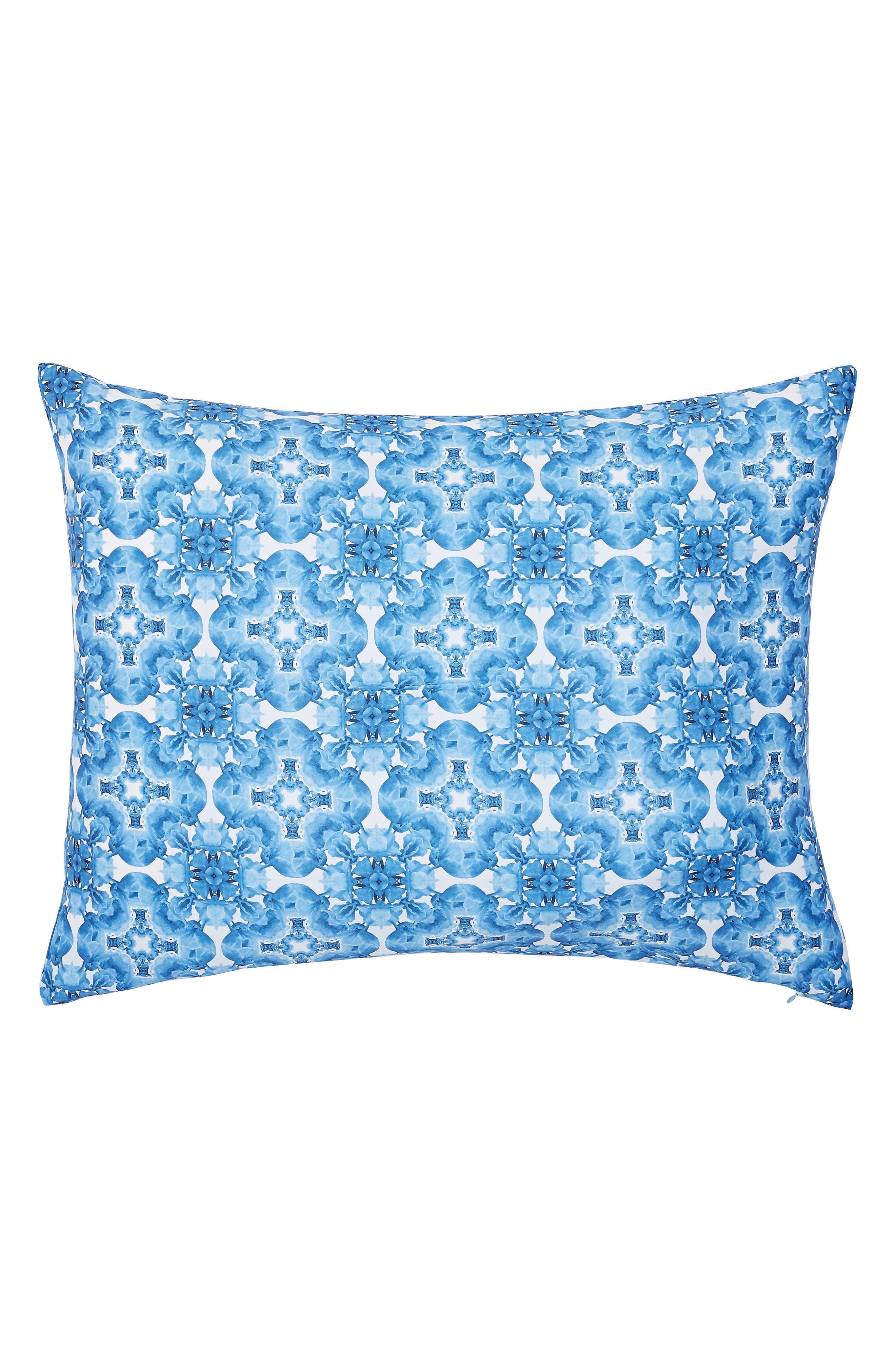 Blue Beauty Comforter & Sham Set,                             Alternate thumbnail 6, color,                             400