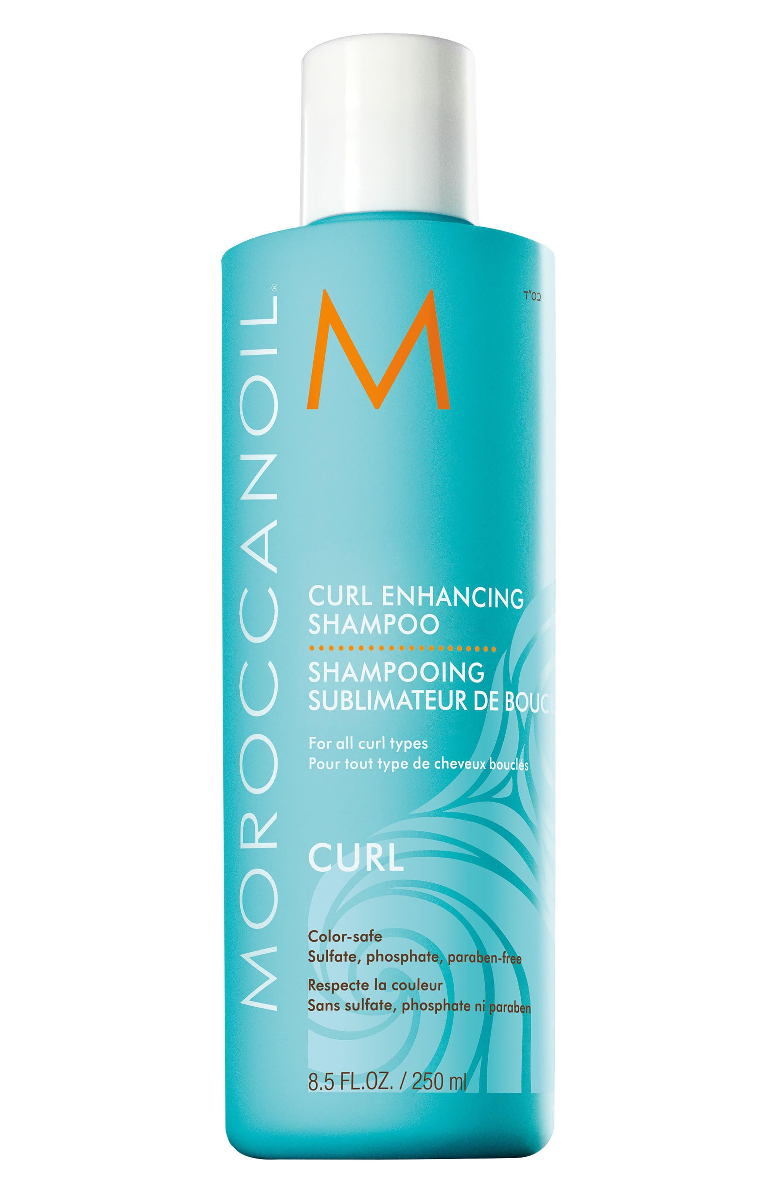 Curl Enhance Shampoo,                             Main thumbnail 1, color,                             NO COLOR