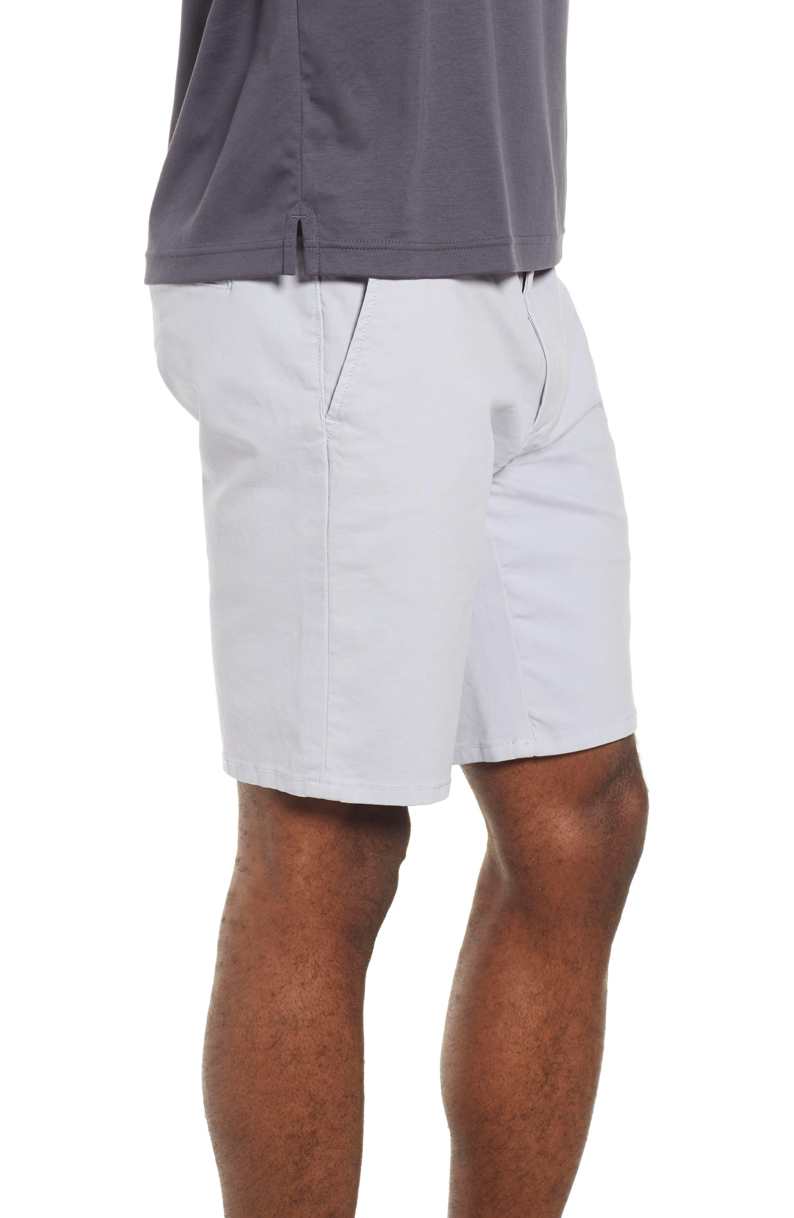 JOE'S,                             Brixton Trim Fit Straight Leg Shorts,                             Alternate thumbnail 3, color,                             GREY DAWN