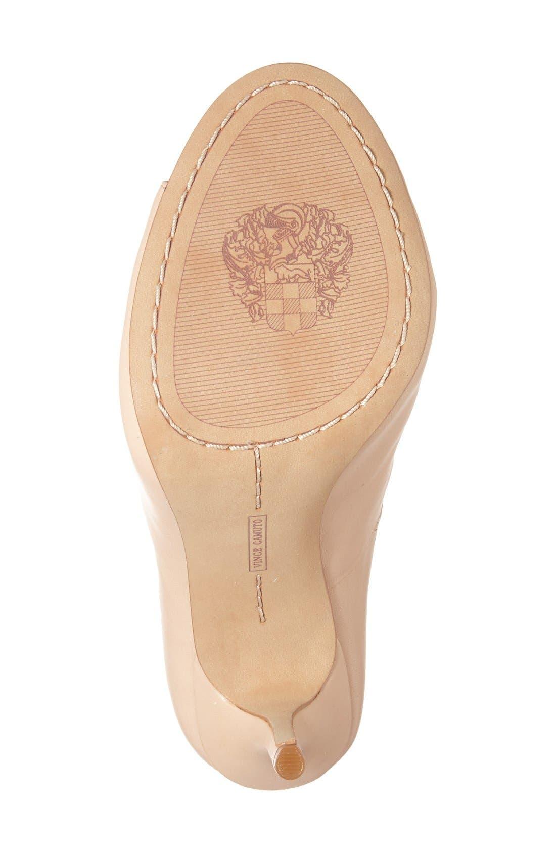 'Sandria' Peep Toe Ghillie Sandal,                             Alternate thumbnail 16, color,