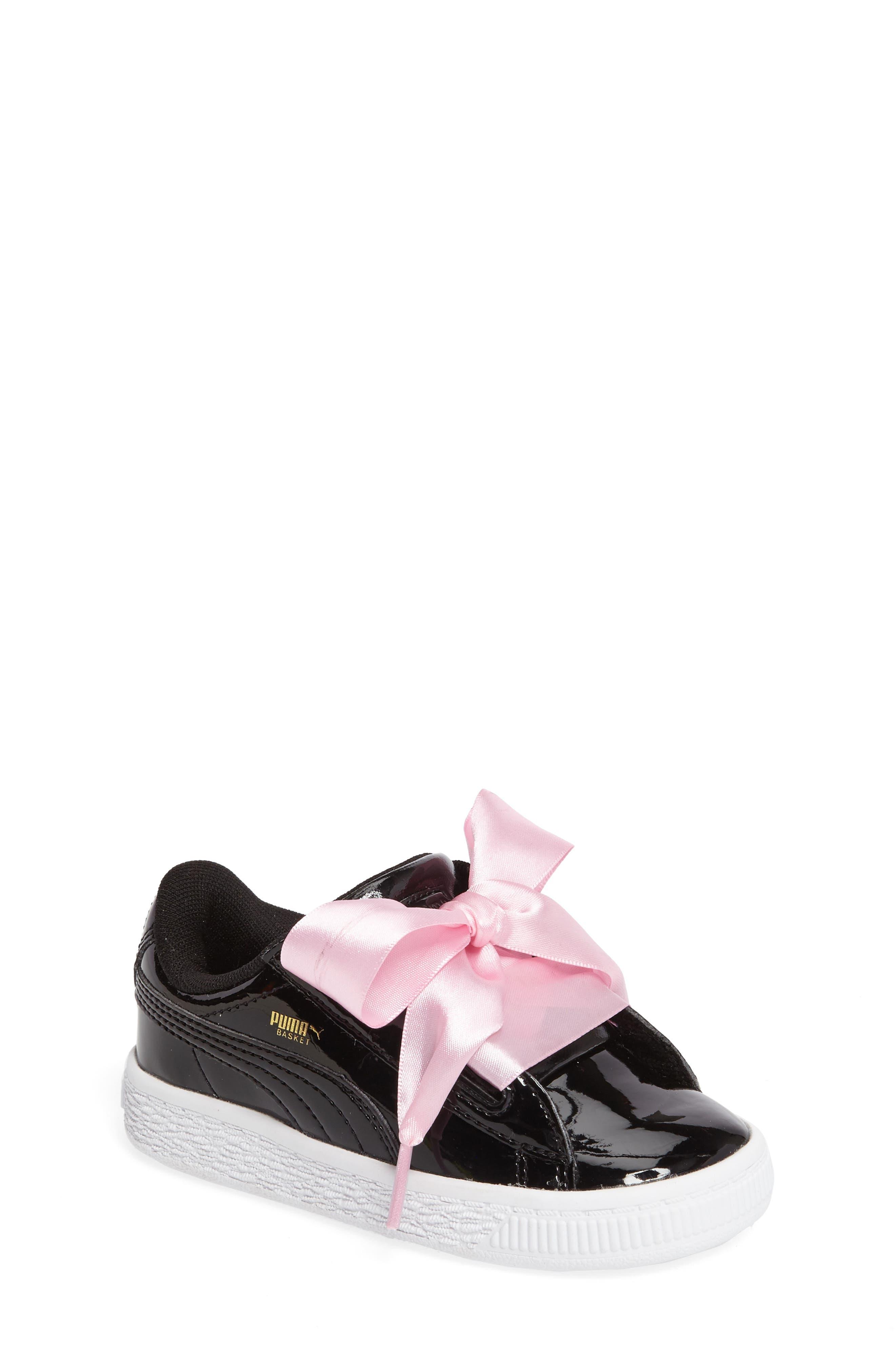 Basket Heart Sneaker,                         Main,                         color, 001